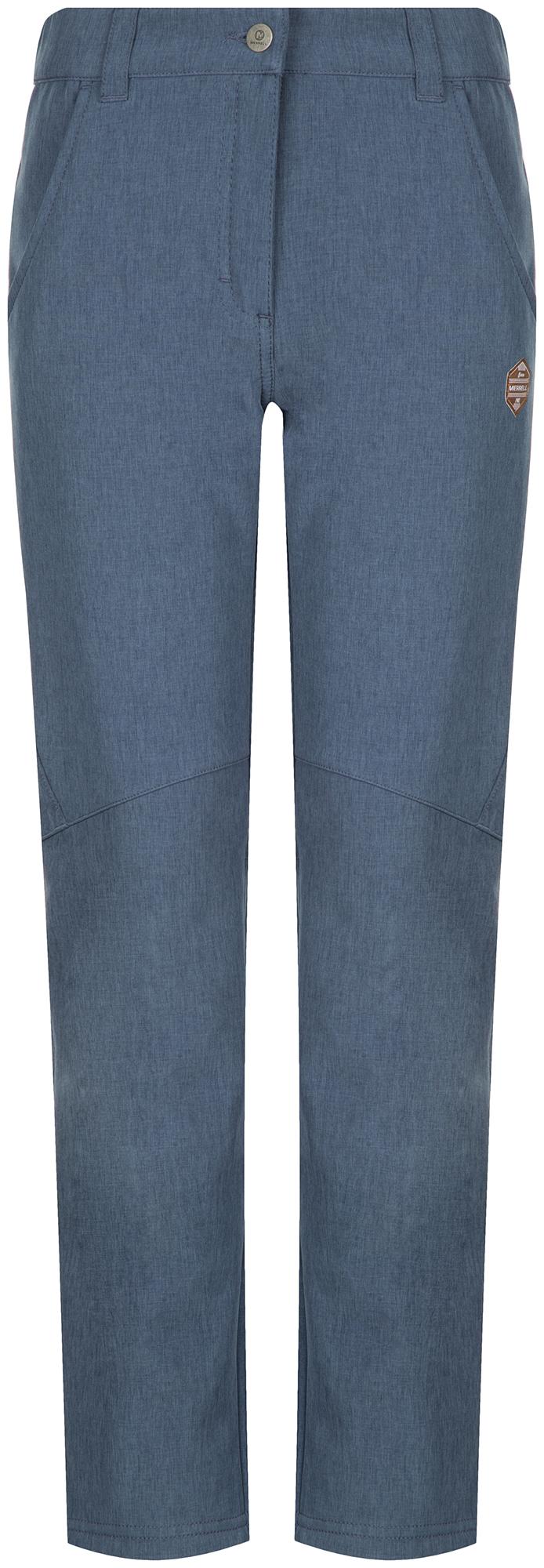 Merrell Брюки софтшелл для девочек Merrell, размер 170 брюки для мальчика stenser б49а 46 170 темно синий 46 170 размер