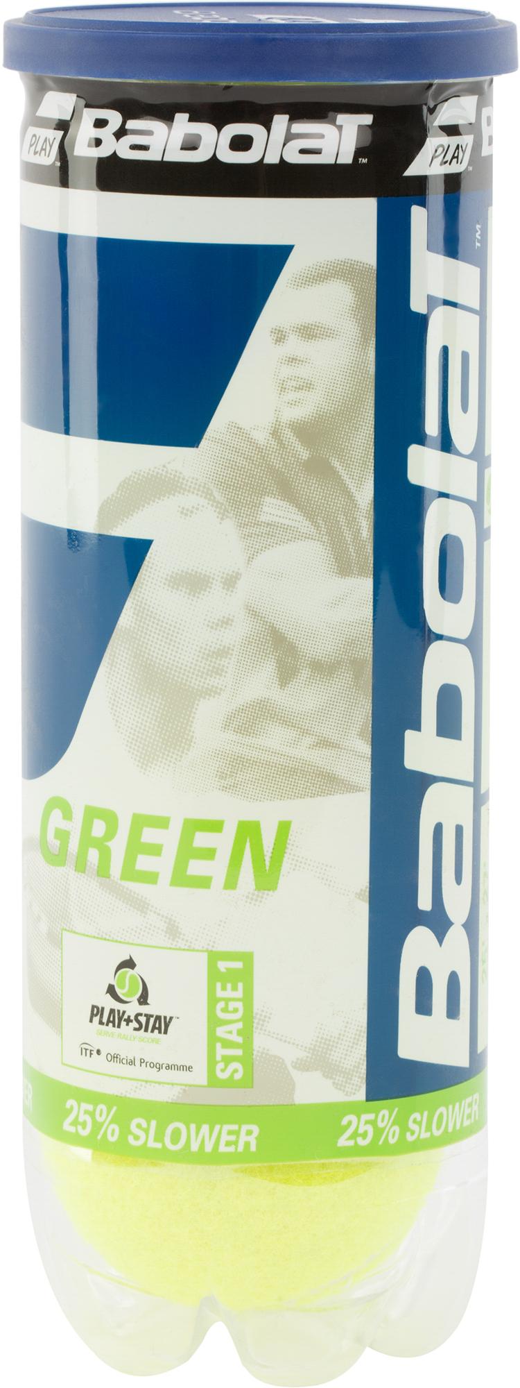 Babolat Мяч для большого тенниса GREEN X3 р.NS