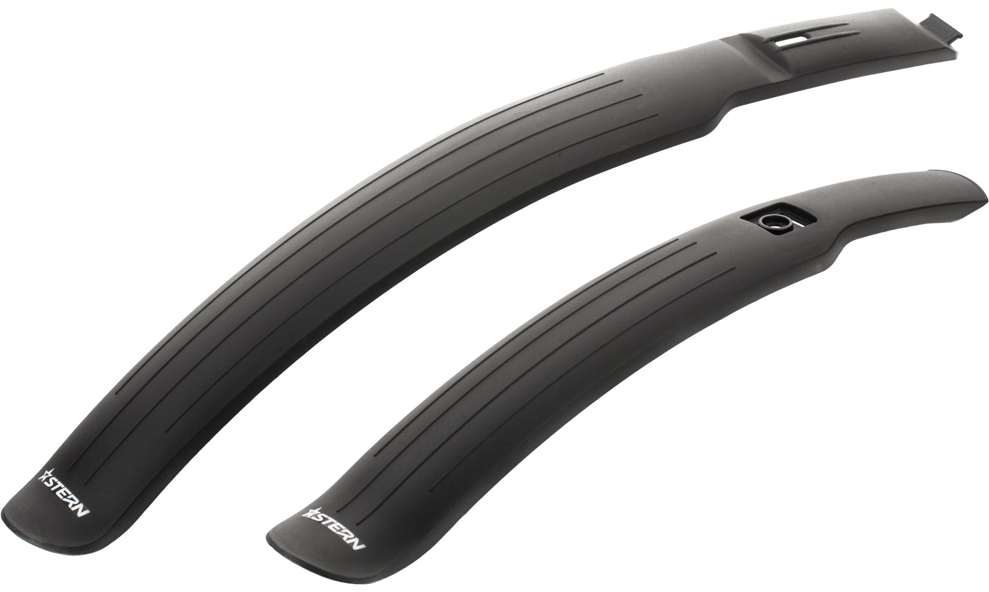 Stern Набор крыльев Stern комплект велосипедных крыльев stg gh 308f r для колес диаметром 18 22 2 шт