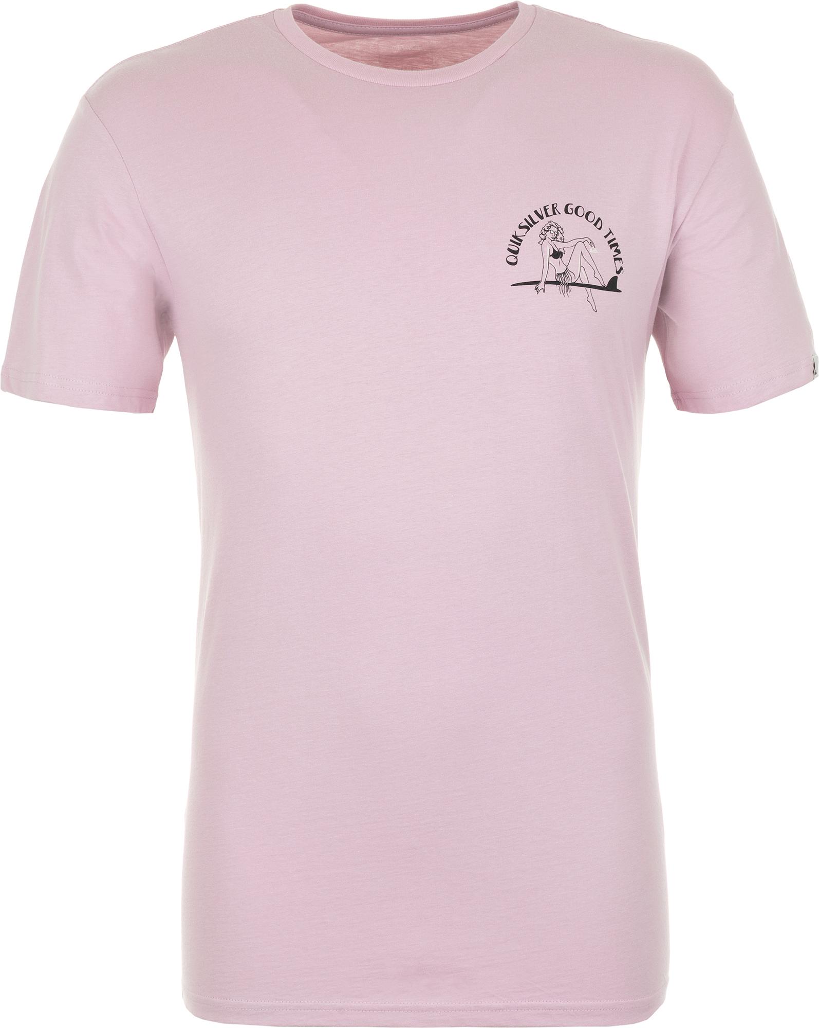 футболка мужская quiksilver цвет серый eqyzt04286 ktah размер l 50 52 Quiksilver Футболка мужская Quiksilver, размер 48-50