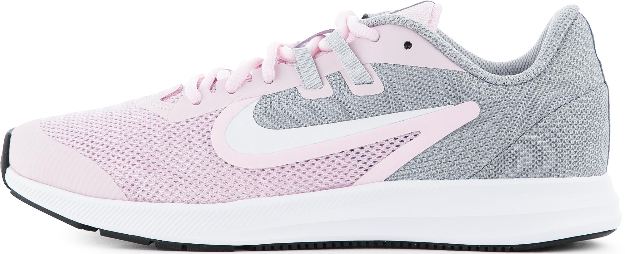 Nike Кроссовки для девочек Nike Downshifter 9 (Gs), размер 37,5 недорго, оригинальная цена