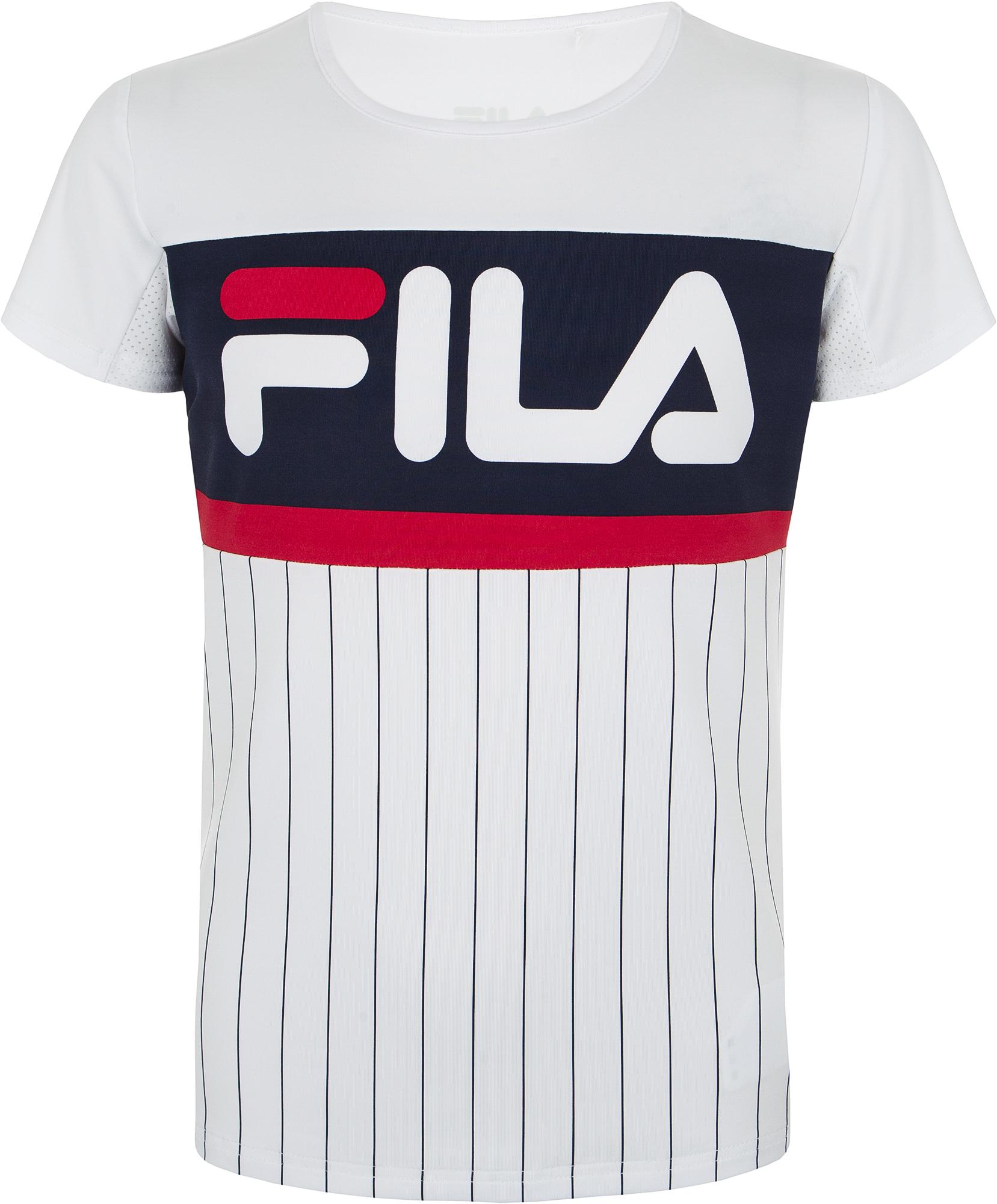 Fila Футболка для девочек Fila, размер 140 fila джемпер для девочек fila размер 140