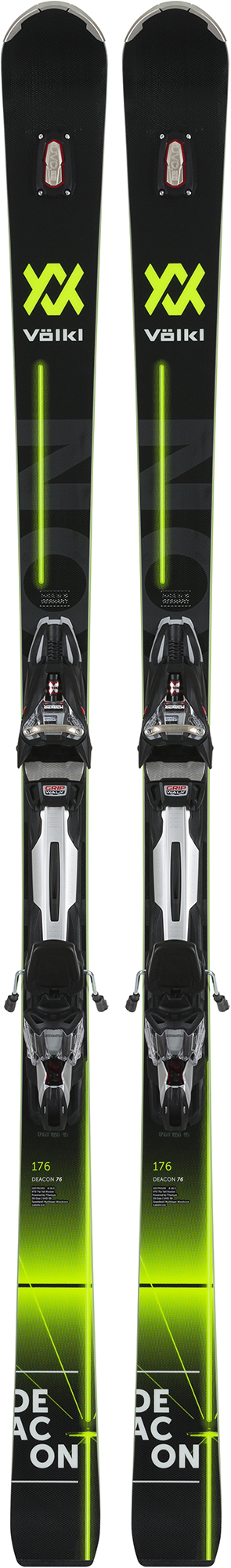 Volkl Volkl Deacon 76 black + rMotion2 12 GW Deacon (18/19), размер 171