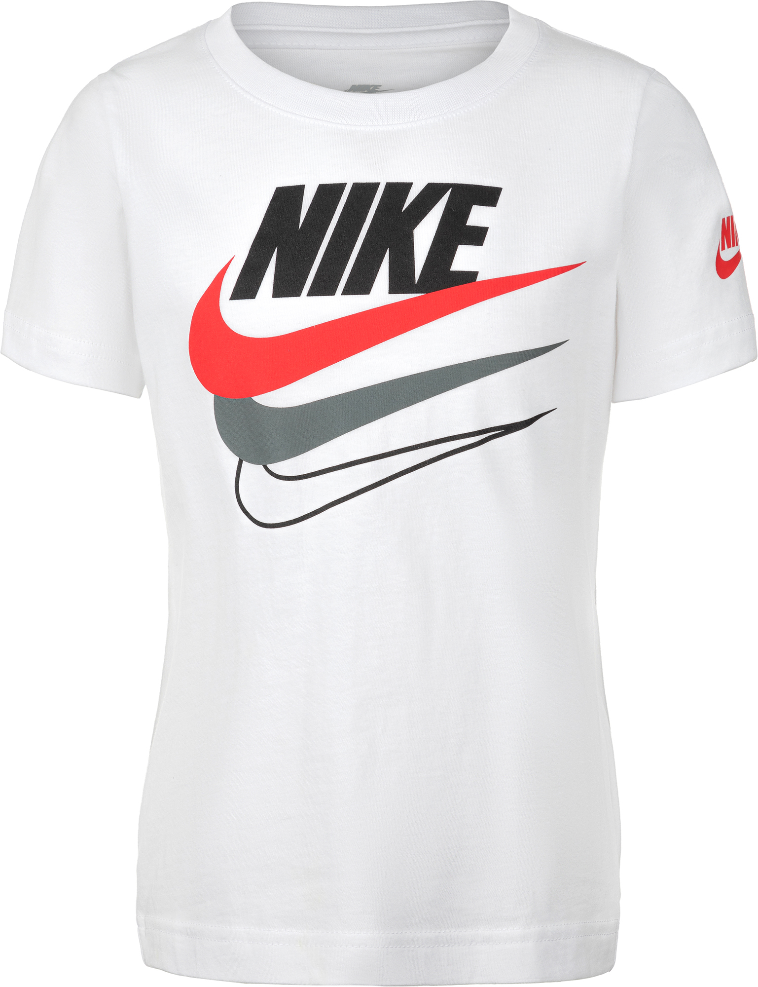 Nike Футболка для мальчиков Nike Multi-Branded, размер 110 nike футболка для мальчиков nike geo basketball