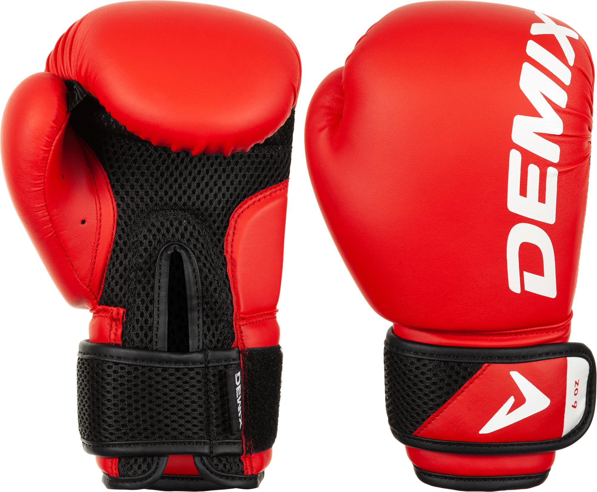 Demix Перчатки боксерские детские Demix, размер 6 oz цена