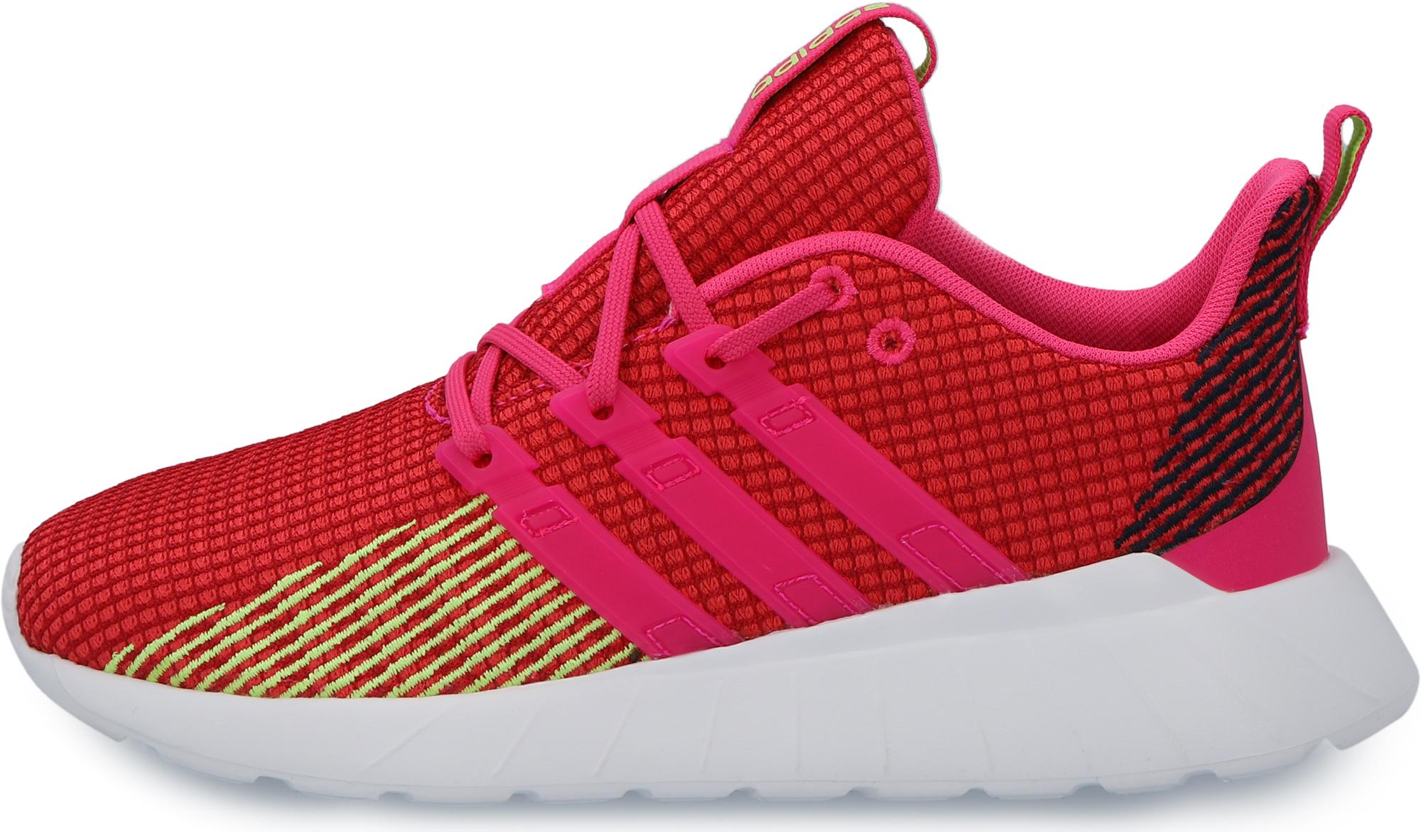 Adidas Кроссовки для девочек Adidas Questar Flow K, размер 38.5 кроссовки детские adidas цвет белый cg6708 размер 31 19