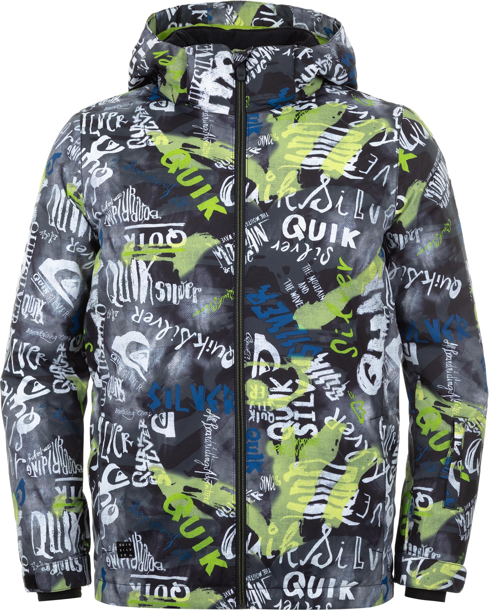 Quiksilver Куртка утепленная для мальчиков Quiksilver Mission Printed, размер 164-170 цена