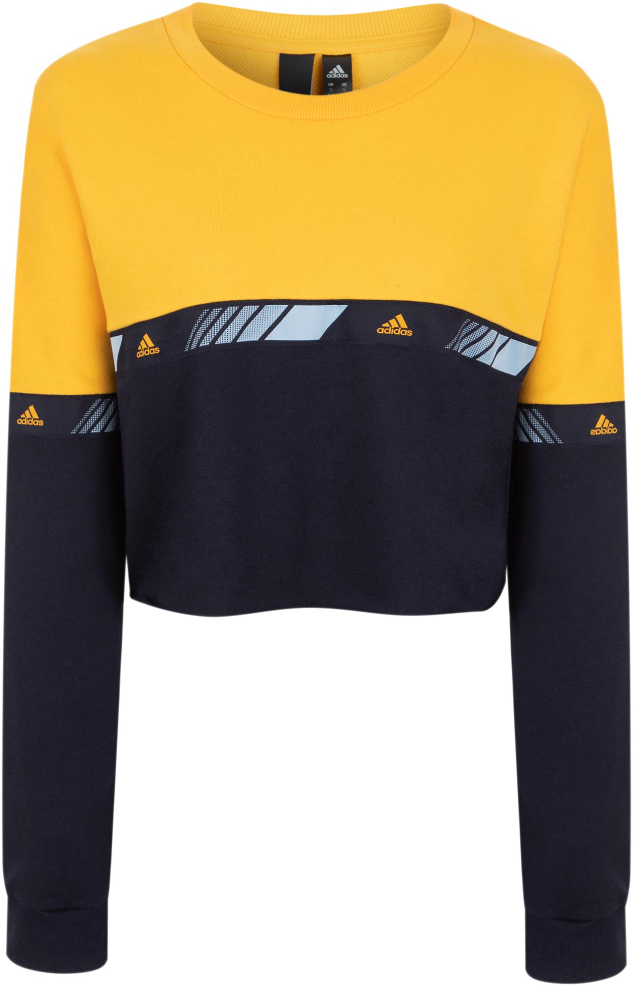 Adidas Свитшот женский Hypersport Moto Crew, размер 46-48