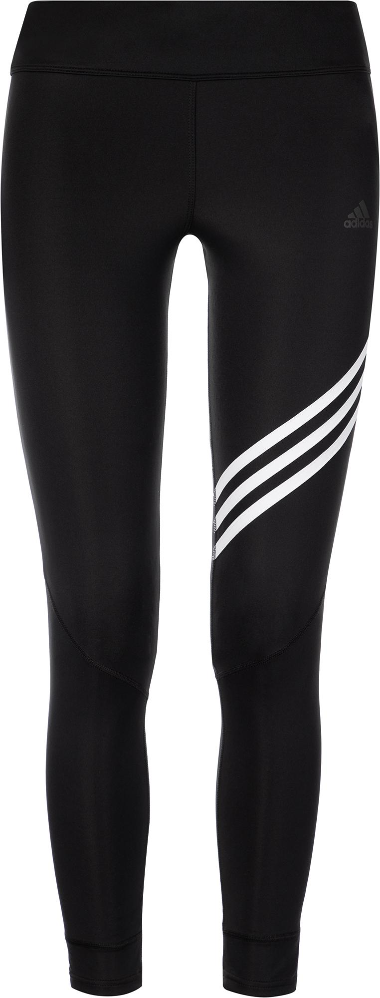 Adidas Легинсы женские adidas Run It 3-Stripes, размер 38-40 adidas легинсы для девочек adidas essentials 3 stripes размер 128