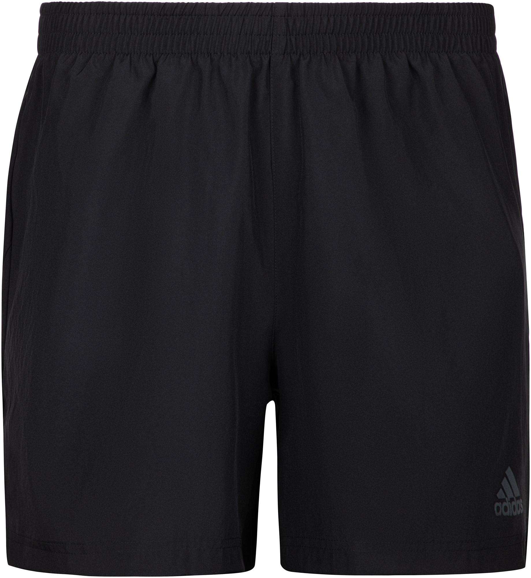 Adidas Шорты мужские adidas Run It 3-Stripes, размер 52-54 шорты для тенниса мужские adidas uncontrol climachill цвет черный b45842 размер l 52 54