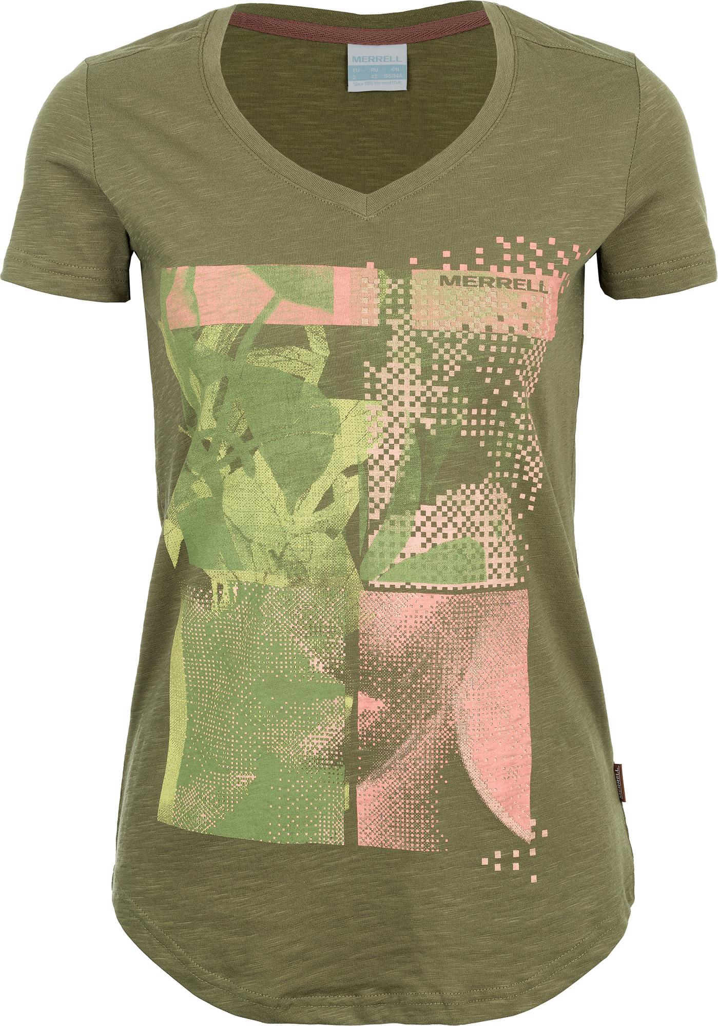 Merrell Футболка женская Merrell merrell рубашка с длинным рукавом женская merrell cilicia