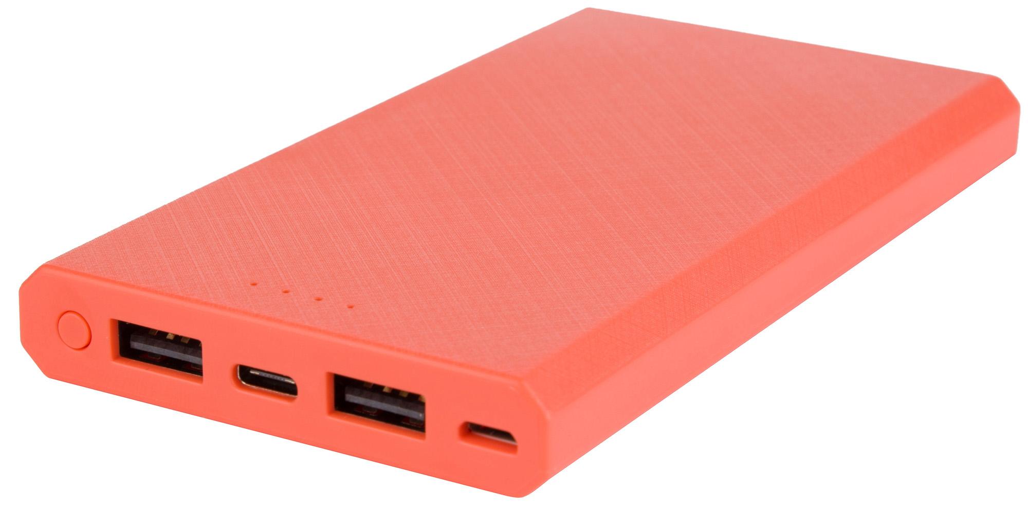 цена на INTERSTEP Внешний аккумулятор INTERSTEP 10 000 мАч, microUSB/TypeC