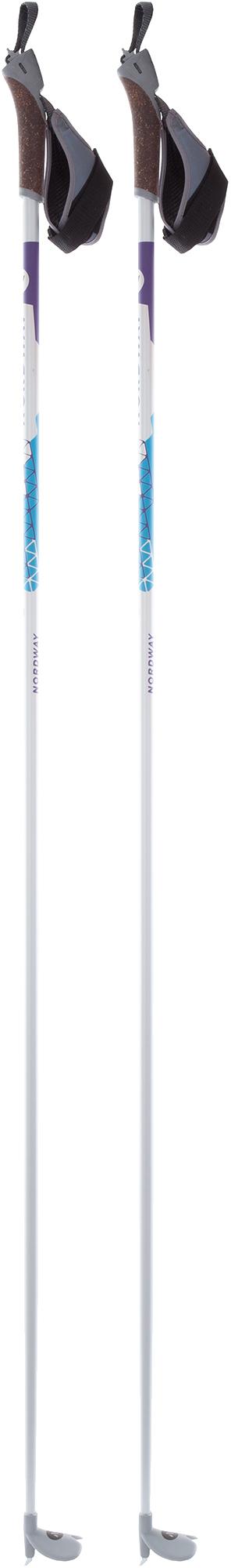Nordway Палки для беговых лыж женские Nordway Vega, размер 155