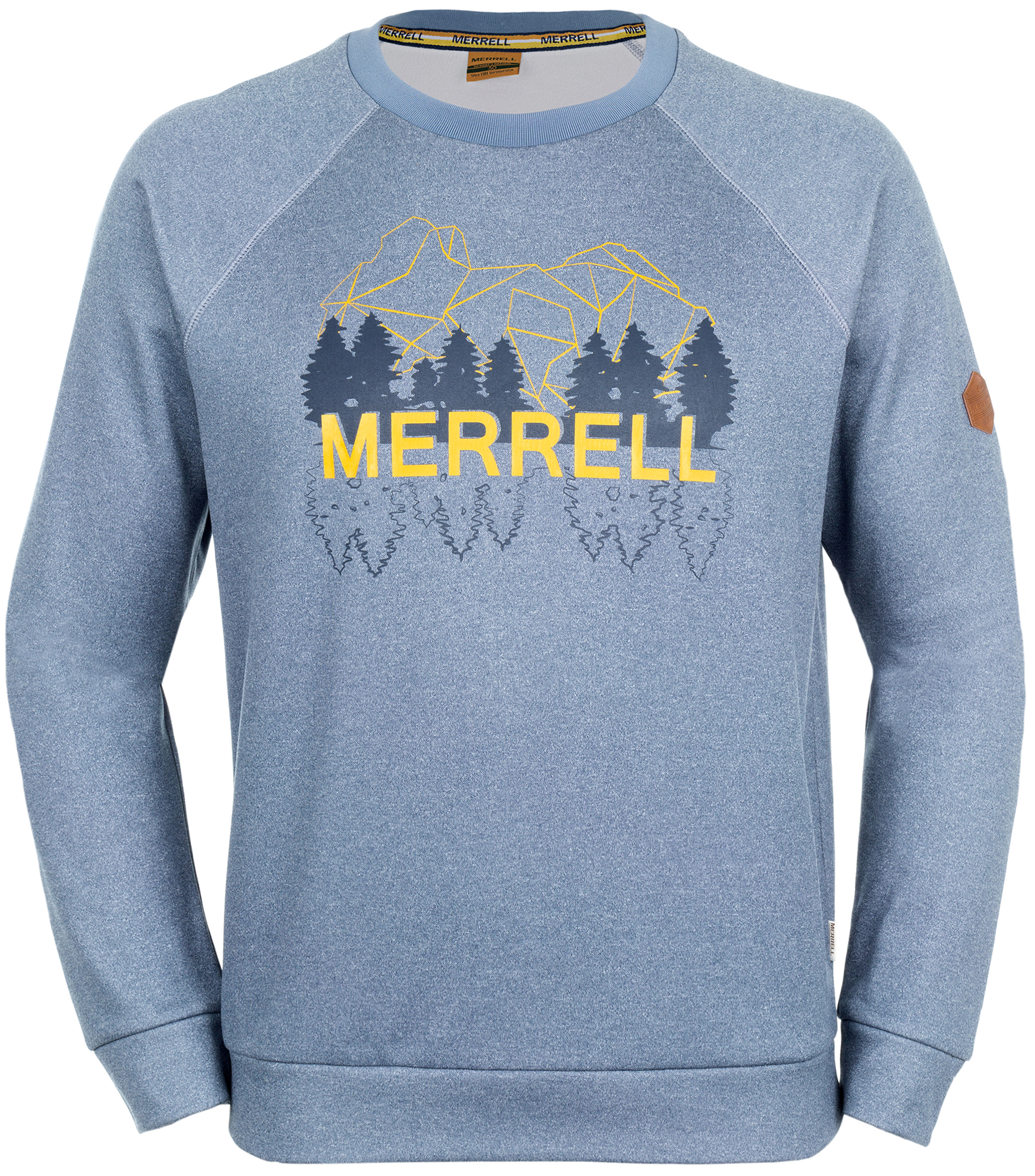 Merrell Футболка с длинным рукавом мужская Merrell Phraaspa ветровка мужская merrell eburacum
