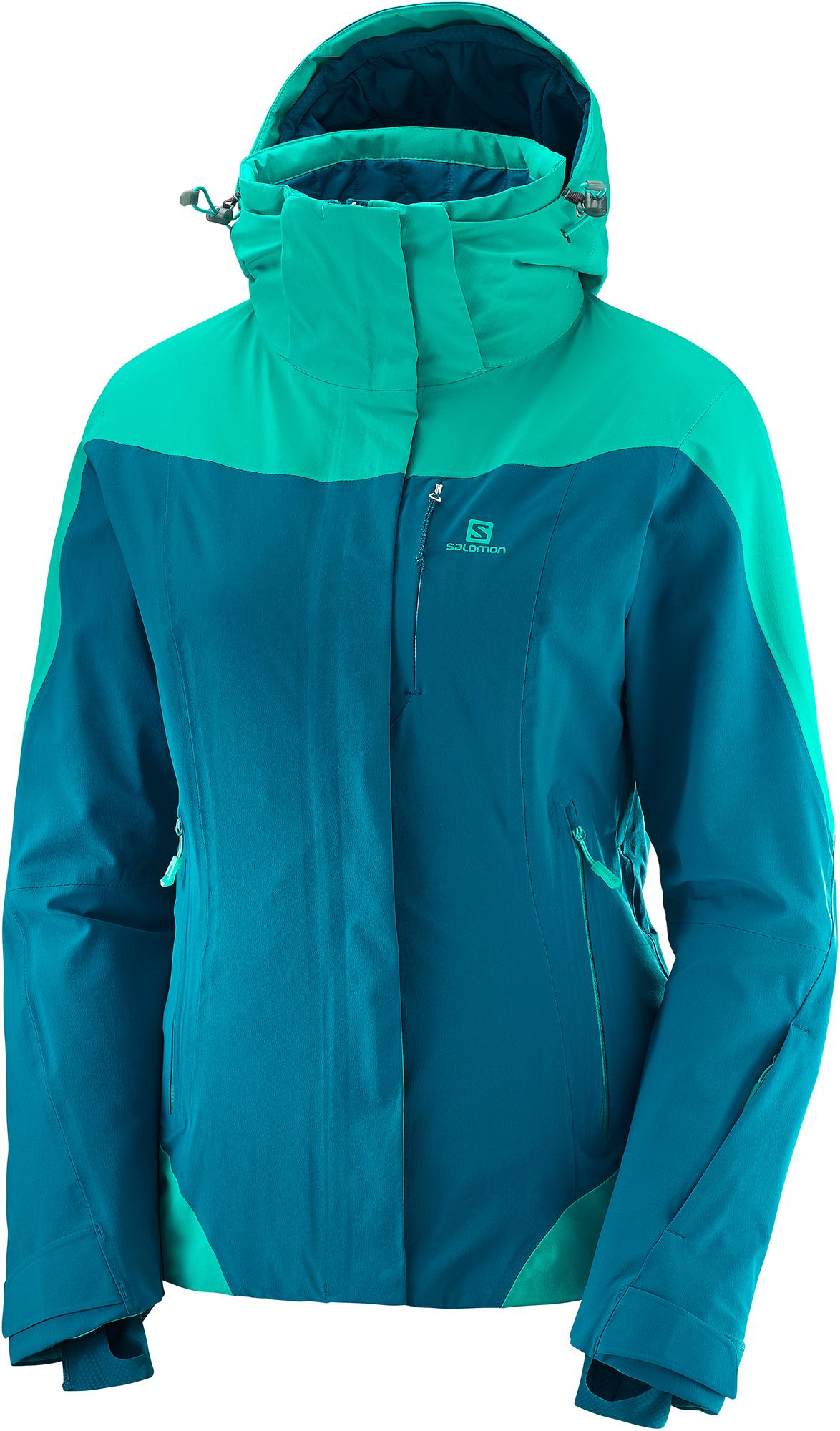 Salomon Куртка утепленная женская Salomon Icerocket, размер 54 цены онлайн