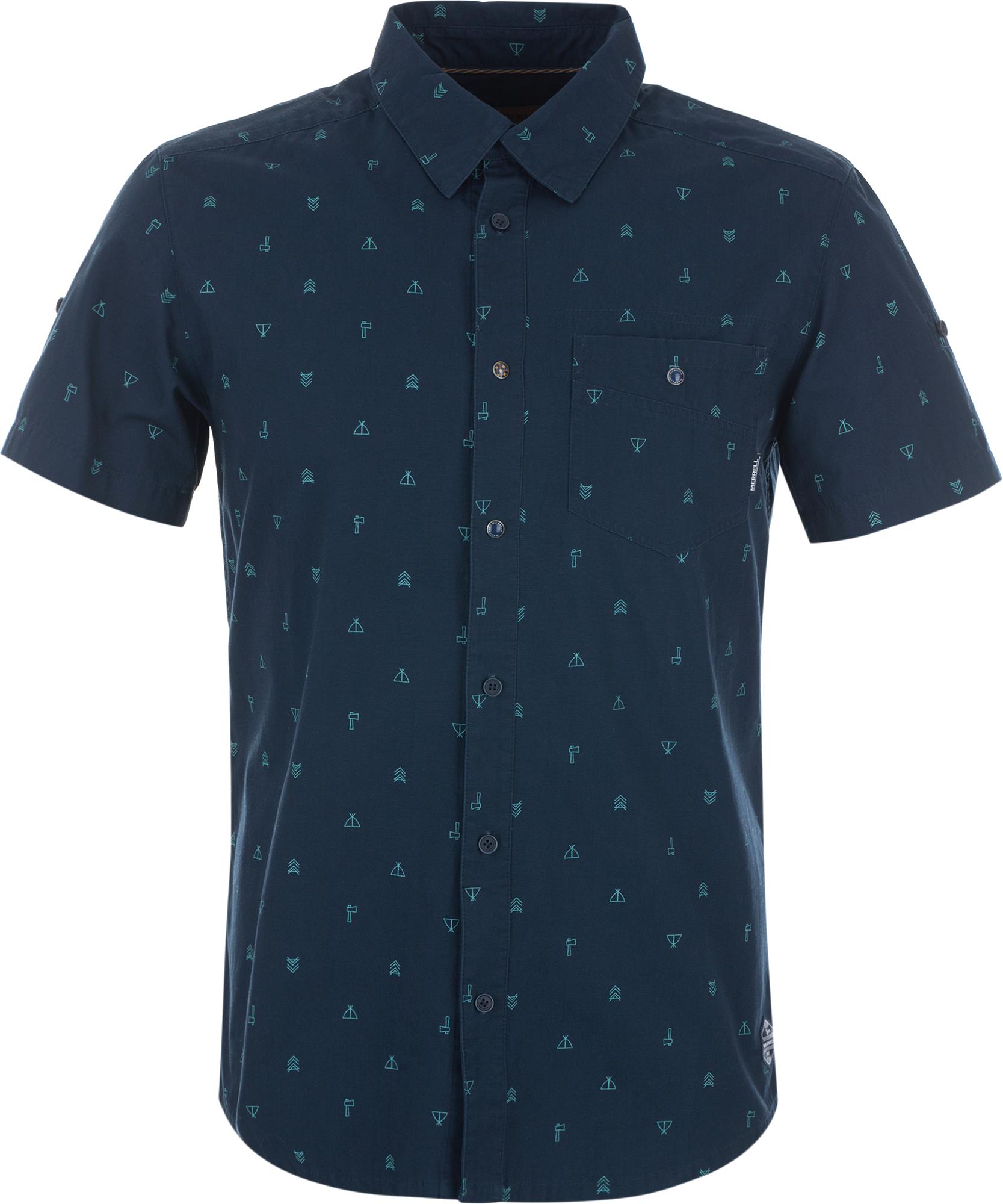 Merrell Рубашка мужская Merrell merrell рубашка с длинным рукавом женская merrell cilicia