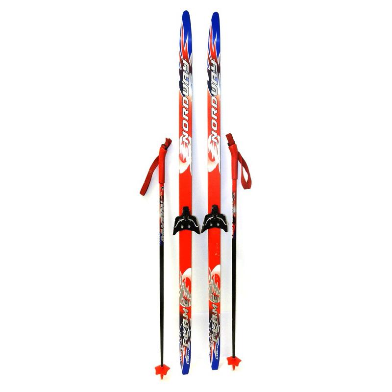 Nordway Комплект лыжный детский Flame 75 мм