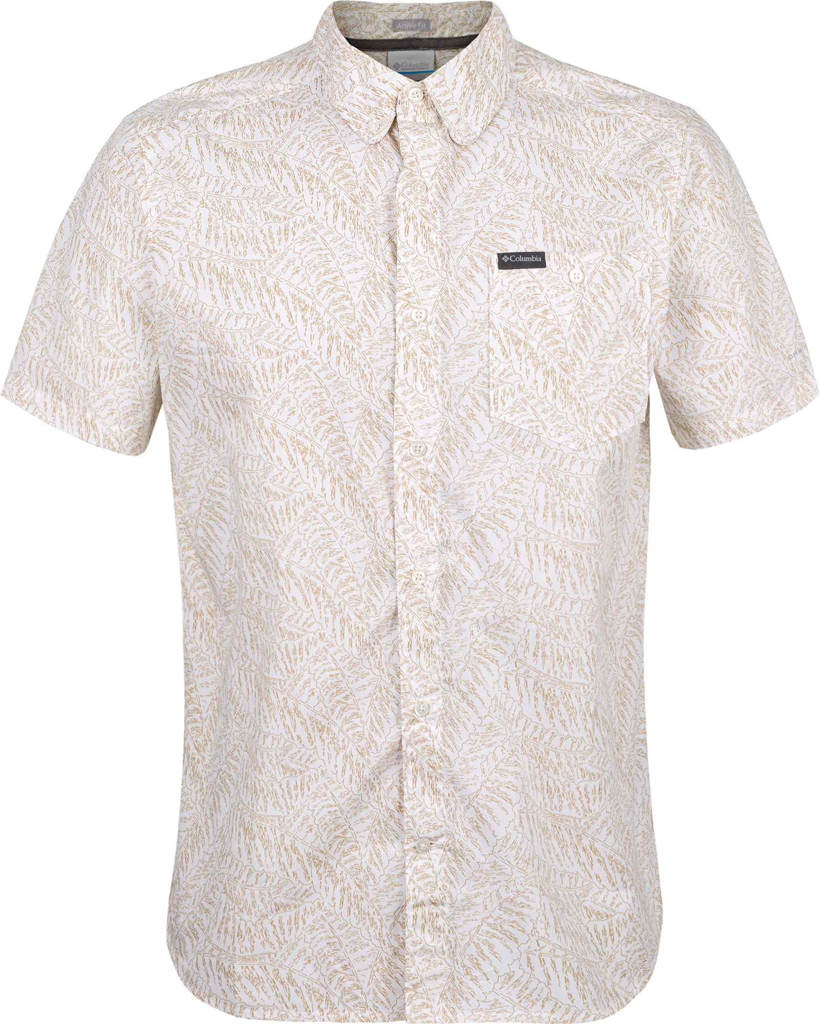 цена на Columbia Рубашка с коротким рукавом мужская Columbia Brentyn Trail II SS, размер 56