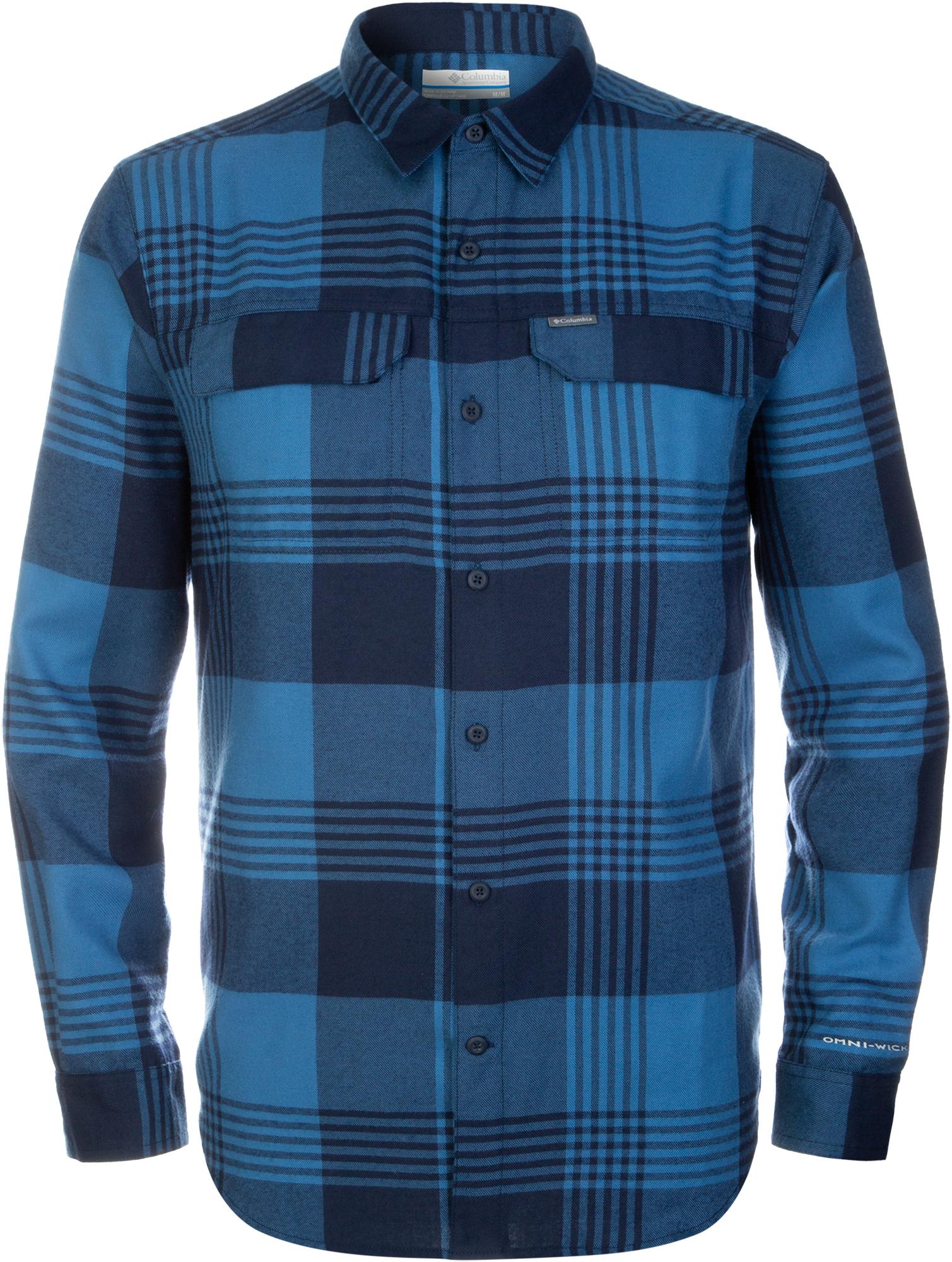цена Columbia Рубашка мужская Columbia Silver Ridge 2.0, размер 52-54 онлайн в 2017 году