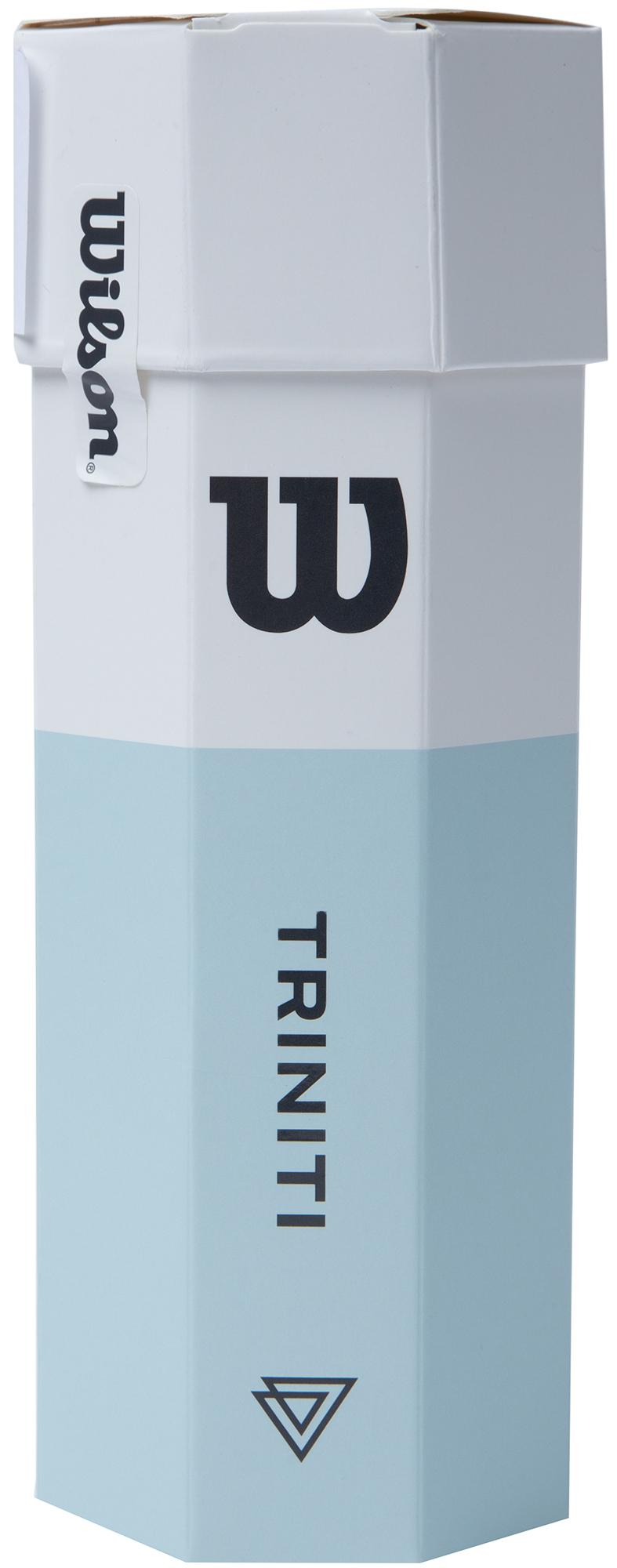 Wilson Набор мячей для большого тенниса TRINITI, 3 шт
