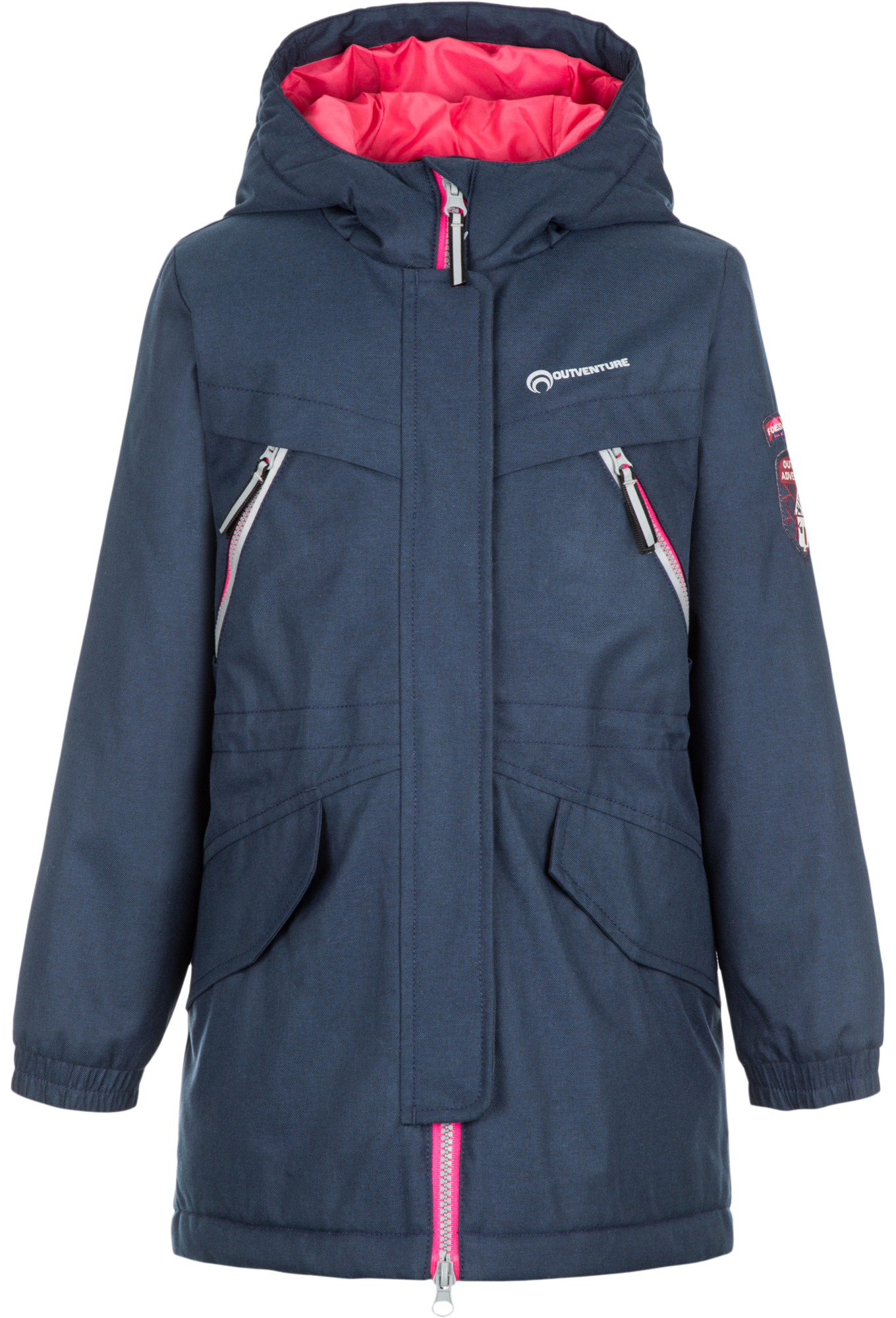 Outventure Куртка утепленная для девочек Outventure, размер 110