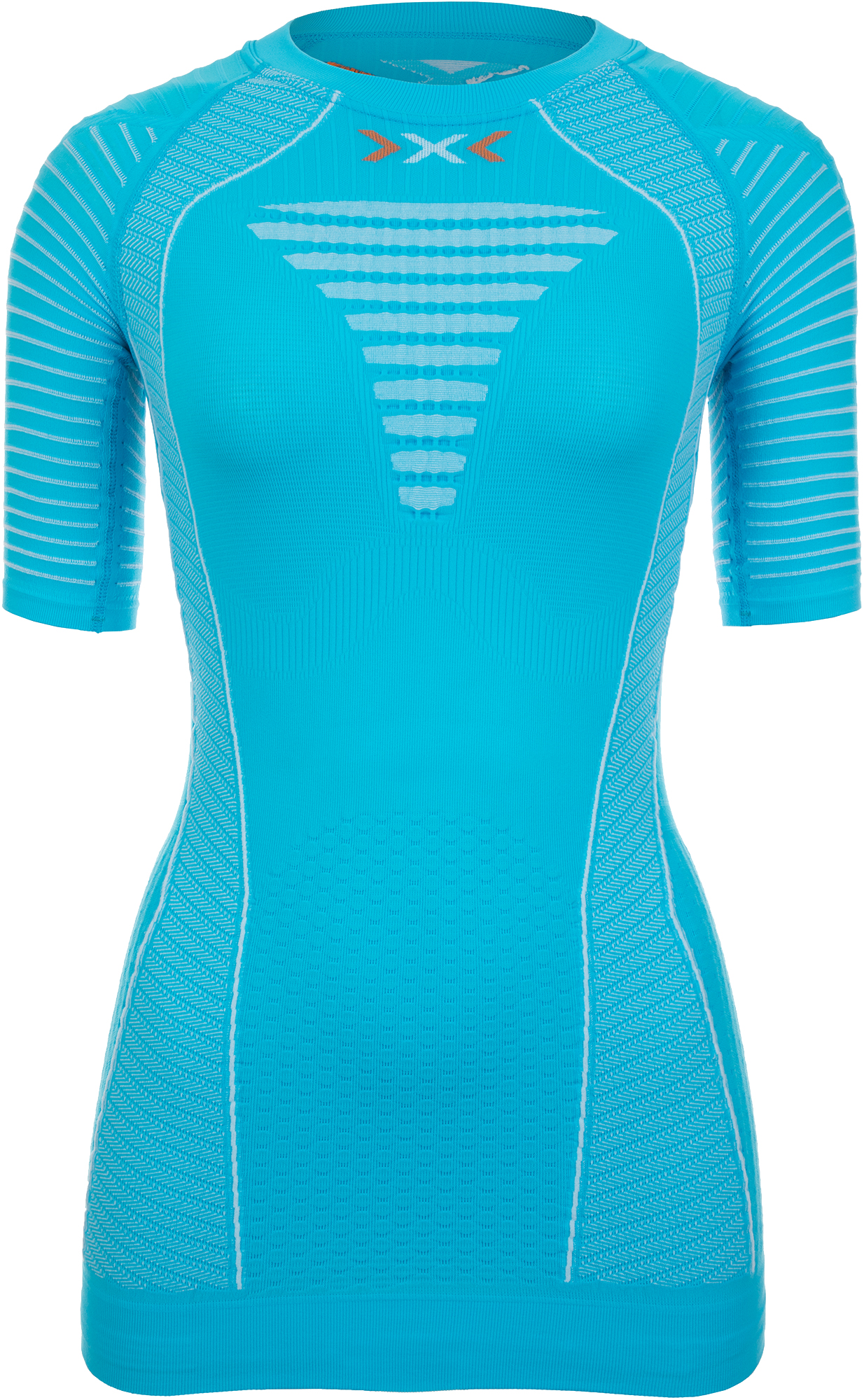 X-Bionic Футболка женская X-Bionic Effector Power Ow, размер 48 футболка x bionic x bionic effektor running powershirt®