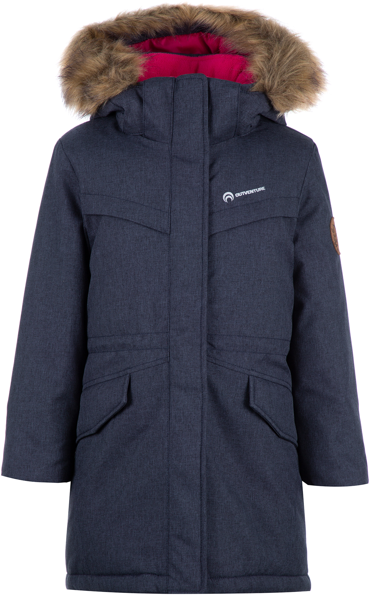 цена на Outventure Куртка утепленная для девочек Outventure, размер 110