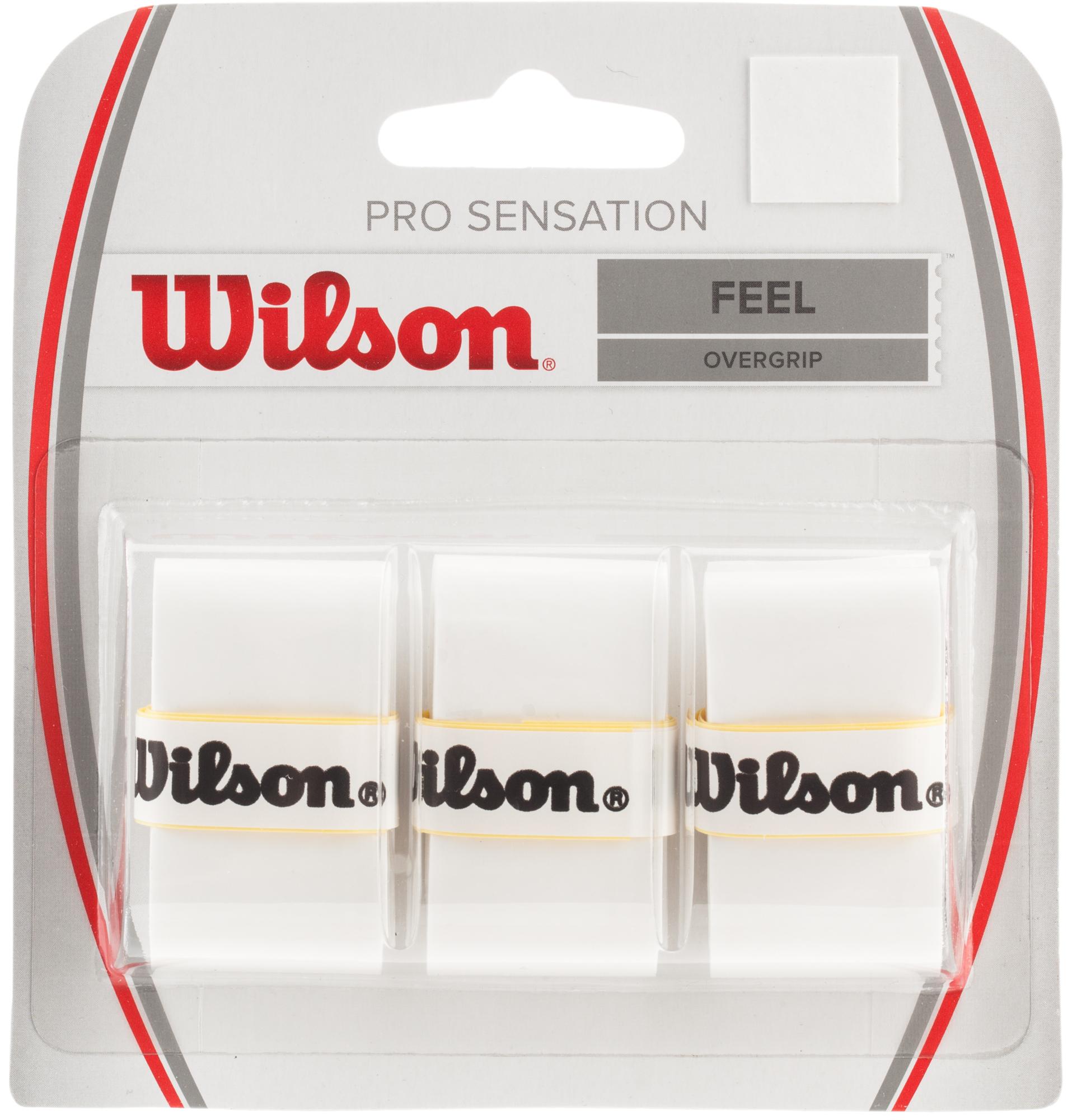 Wilson Намотка верхняя Wilson Pro Overgrip Sensation wilson струна wilson sensation 15l