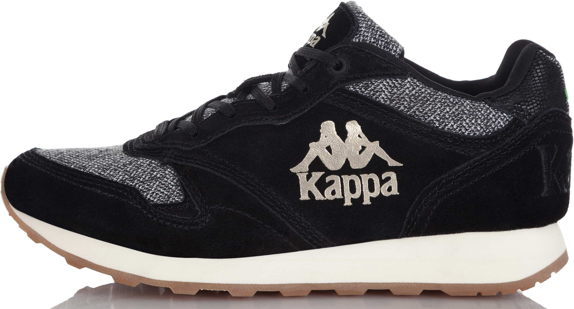 Kappa Кроссовки женские Kappa Authentic Run, размер 41 kappa кроссовки женские kappa linea
