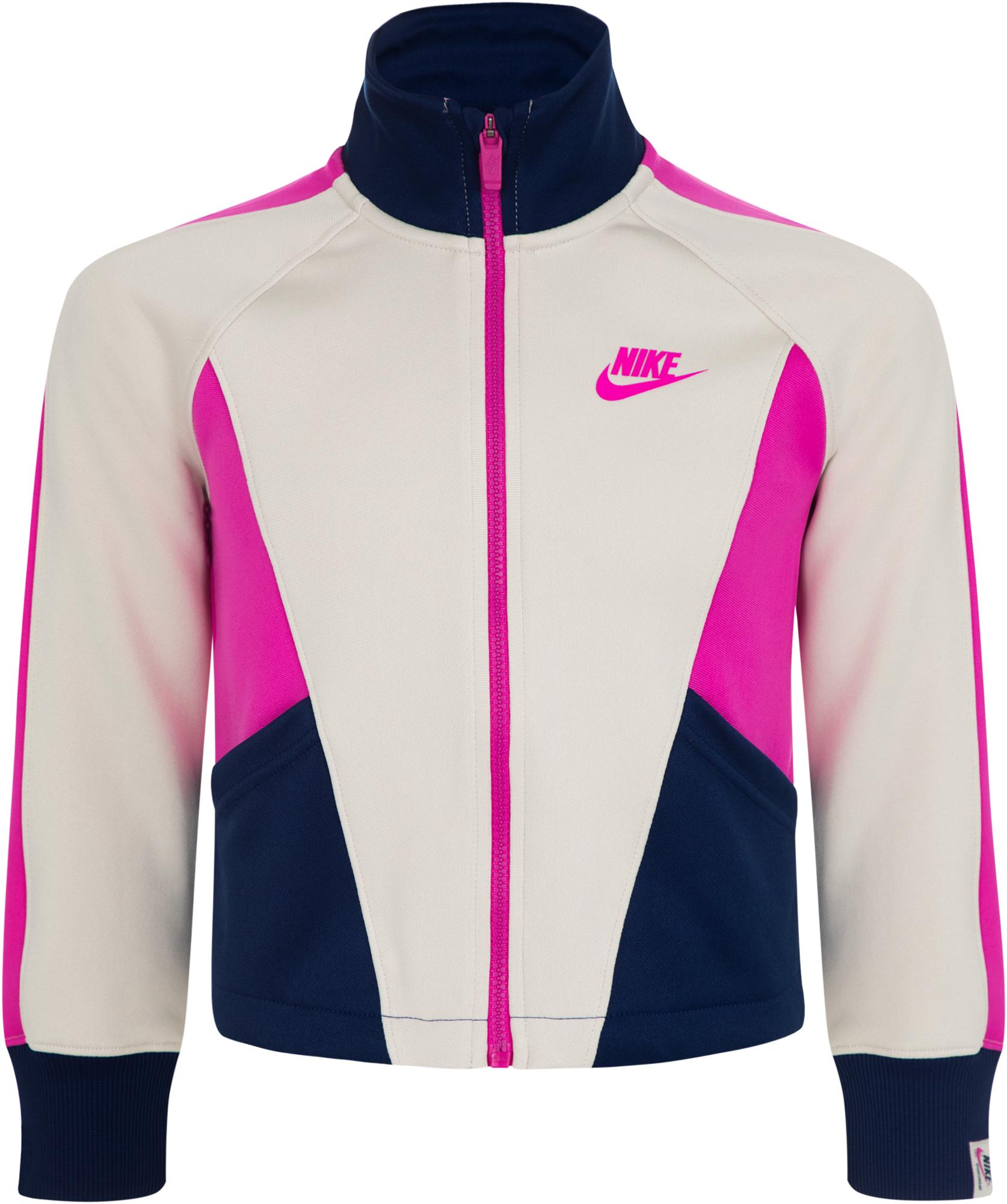 цена на Nike Олимпийка для девочек Nike Sportswear Heritage, размер 156-165