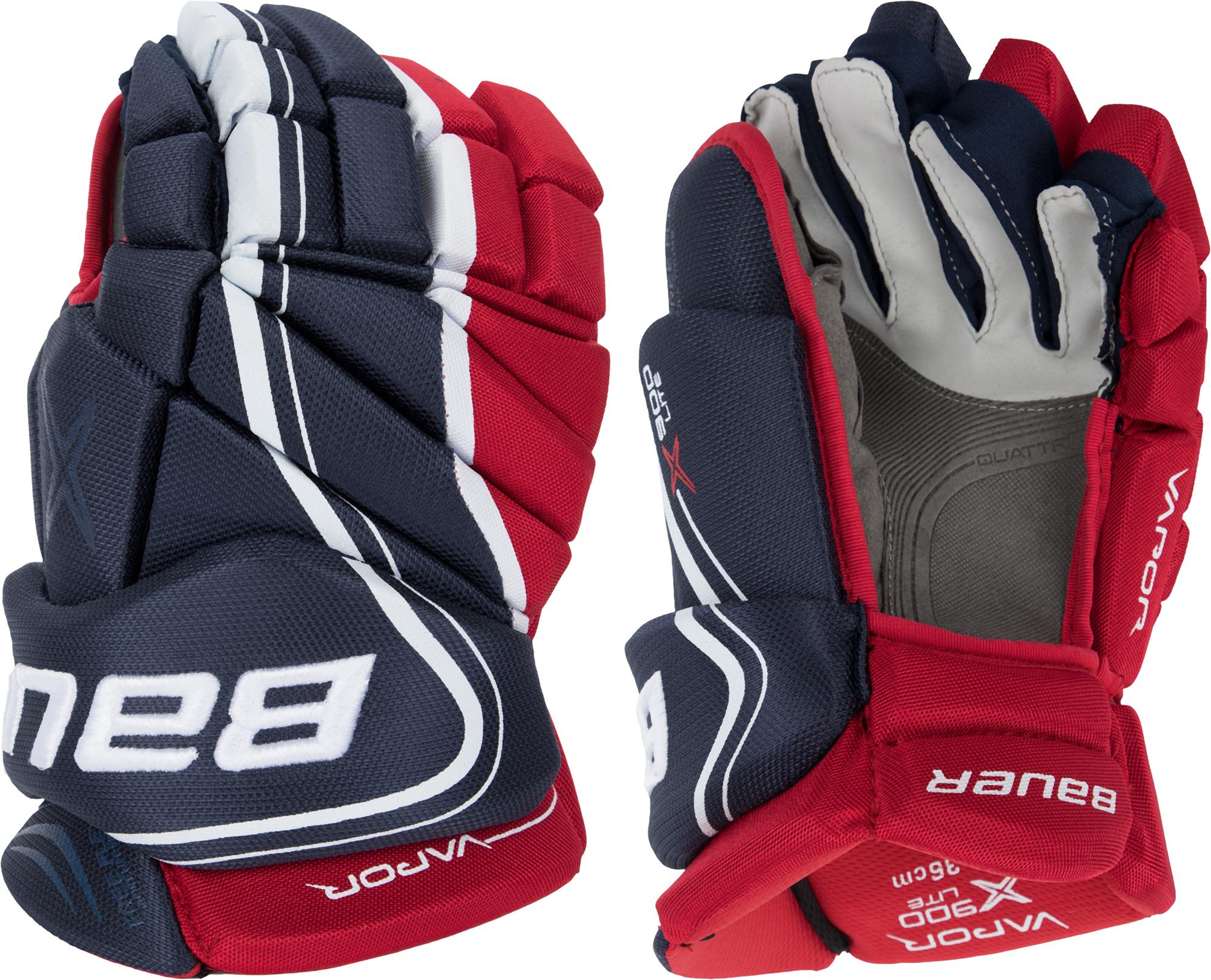 Bauer Перчатки хоккейные Bauer VAPOR X900 LITE - SR защита bauer шорты bauer x900 взрослые