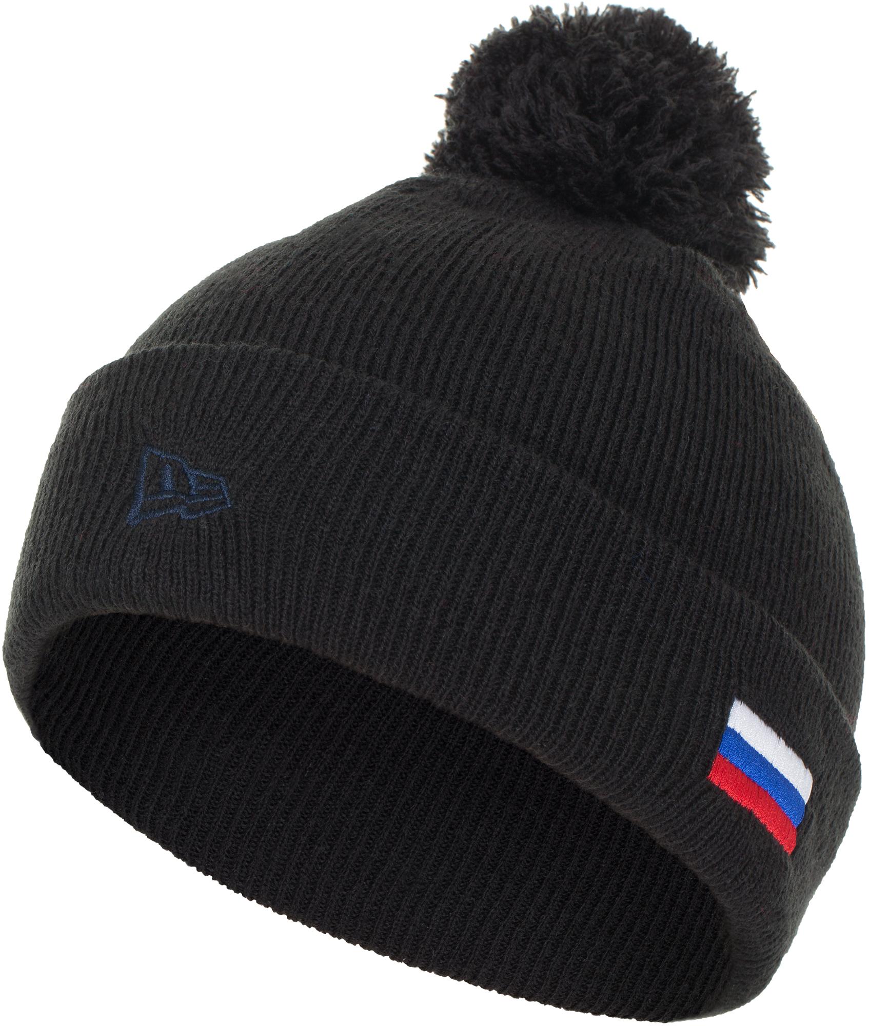 New Era Шапка для мальчиков Lic 879 Russian Bear Knit, размер 54-55