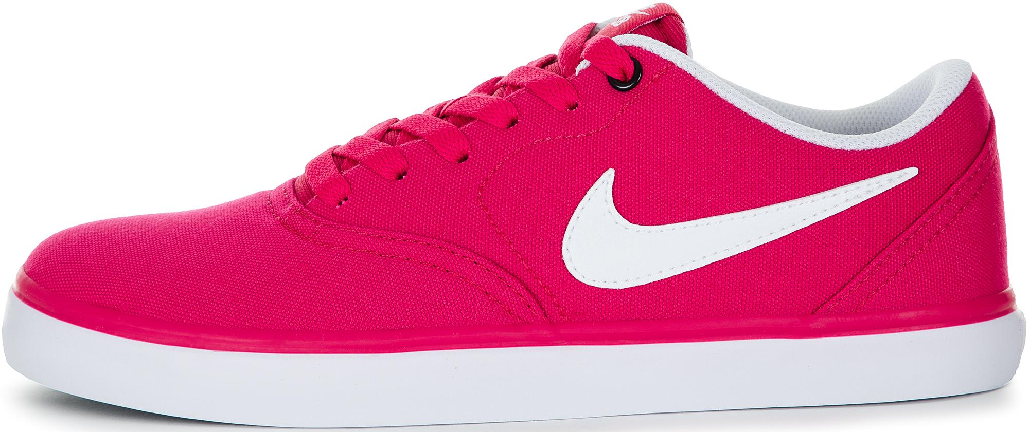 Nike Кеды женские SB Check Solarsoft, размер 37,5