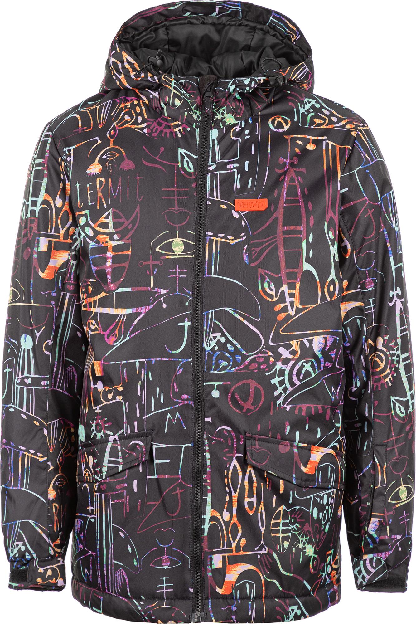 Termit Куртка утепленная для мальчиков Termit, размер 170 куртка для мальчика acoola brandon цвет темно серый 20110130145 2000 размер 170