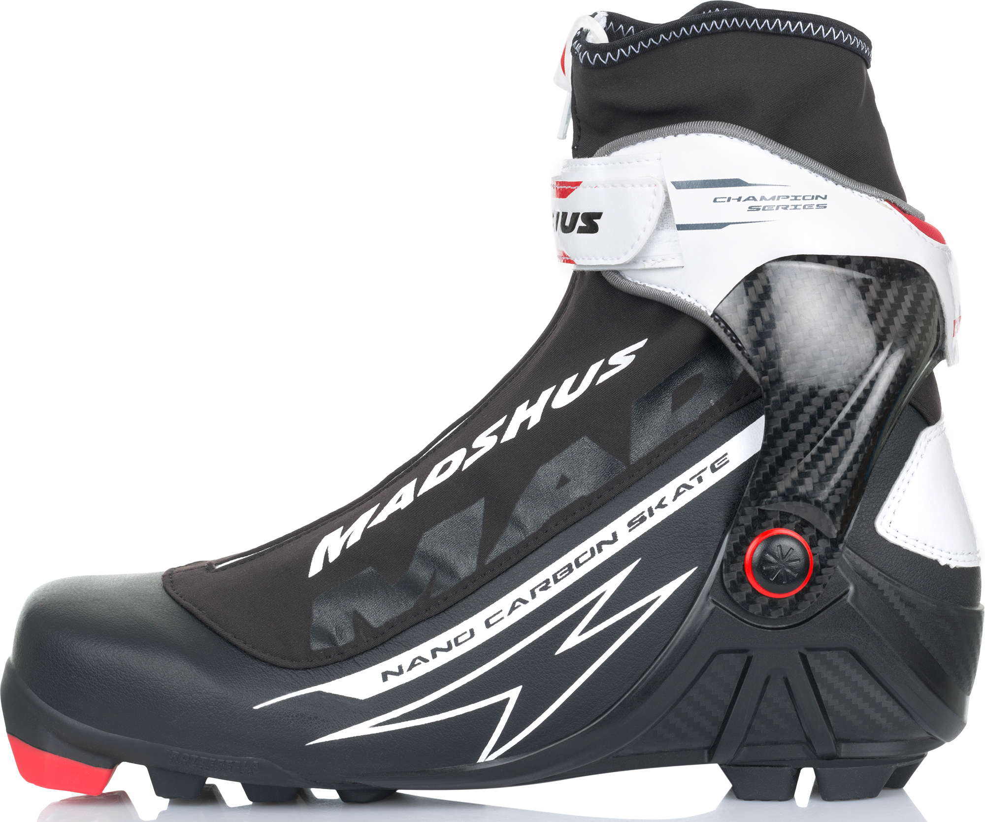Madshus Ботинки для беговых лыж Madshus Nano Carbon Skate цена