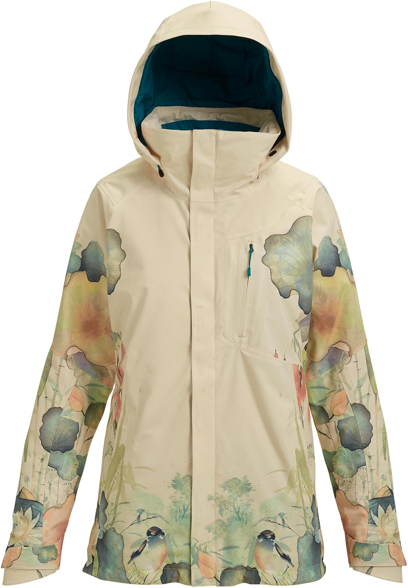 Burton Куртка утепленная женская Burton Ak Gore-Tex Embark, размер 44-46 burton куртка утепленная женская burton minturn размер 48 50