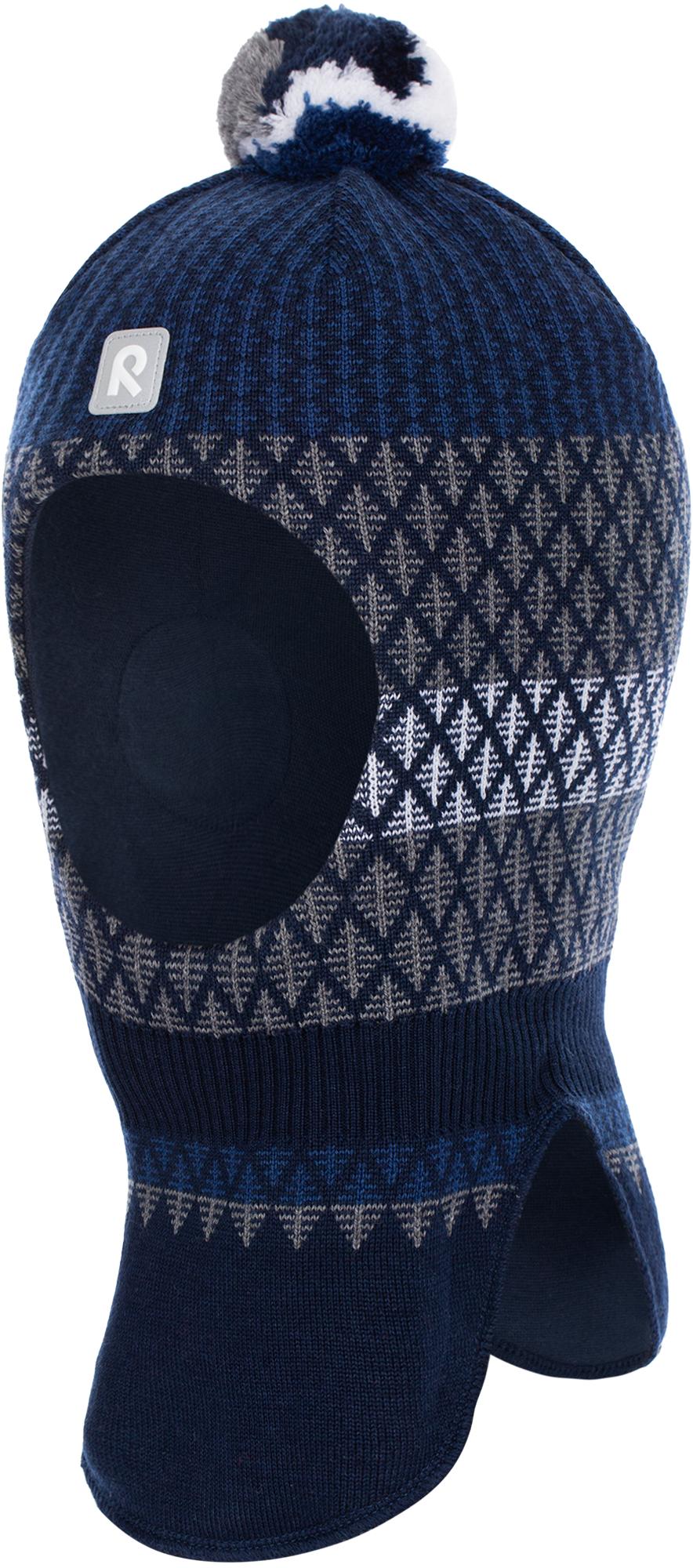 Фото - Reima Шапка-шлем для мальчиков Reima Valittu, размер 54 шапка reima reima re883cbadqd3