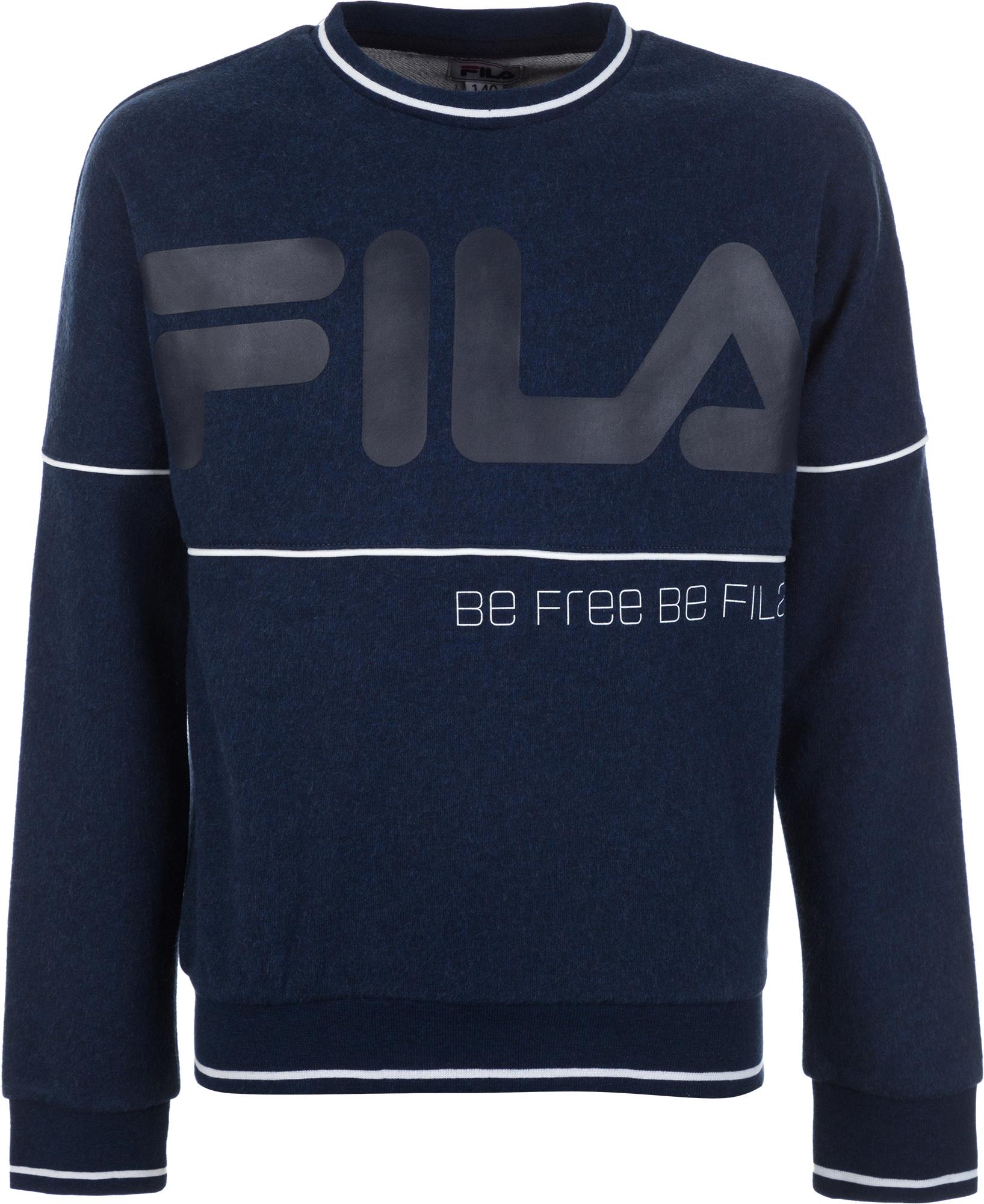 Fila Джемпер для мальчиков Fila, размер 158 цена 2017
