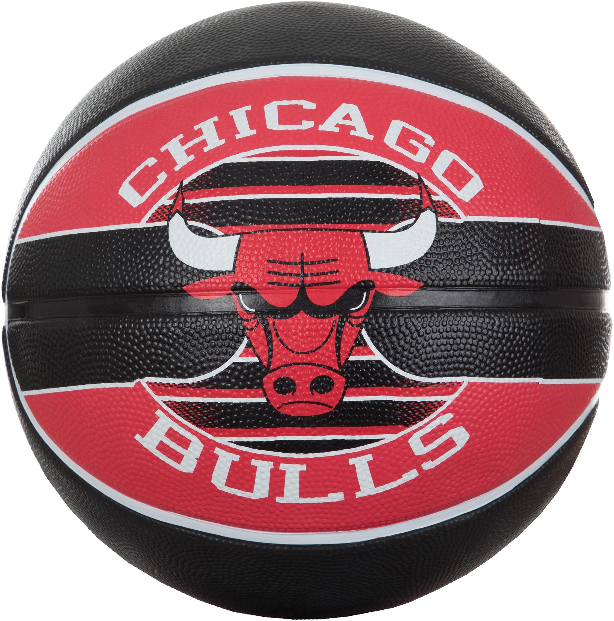 Spalding Мяч баскетбольный Spalding Chicago Bulls, размер 7 стоимость