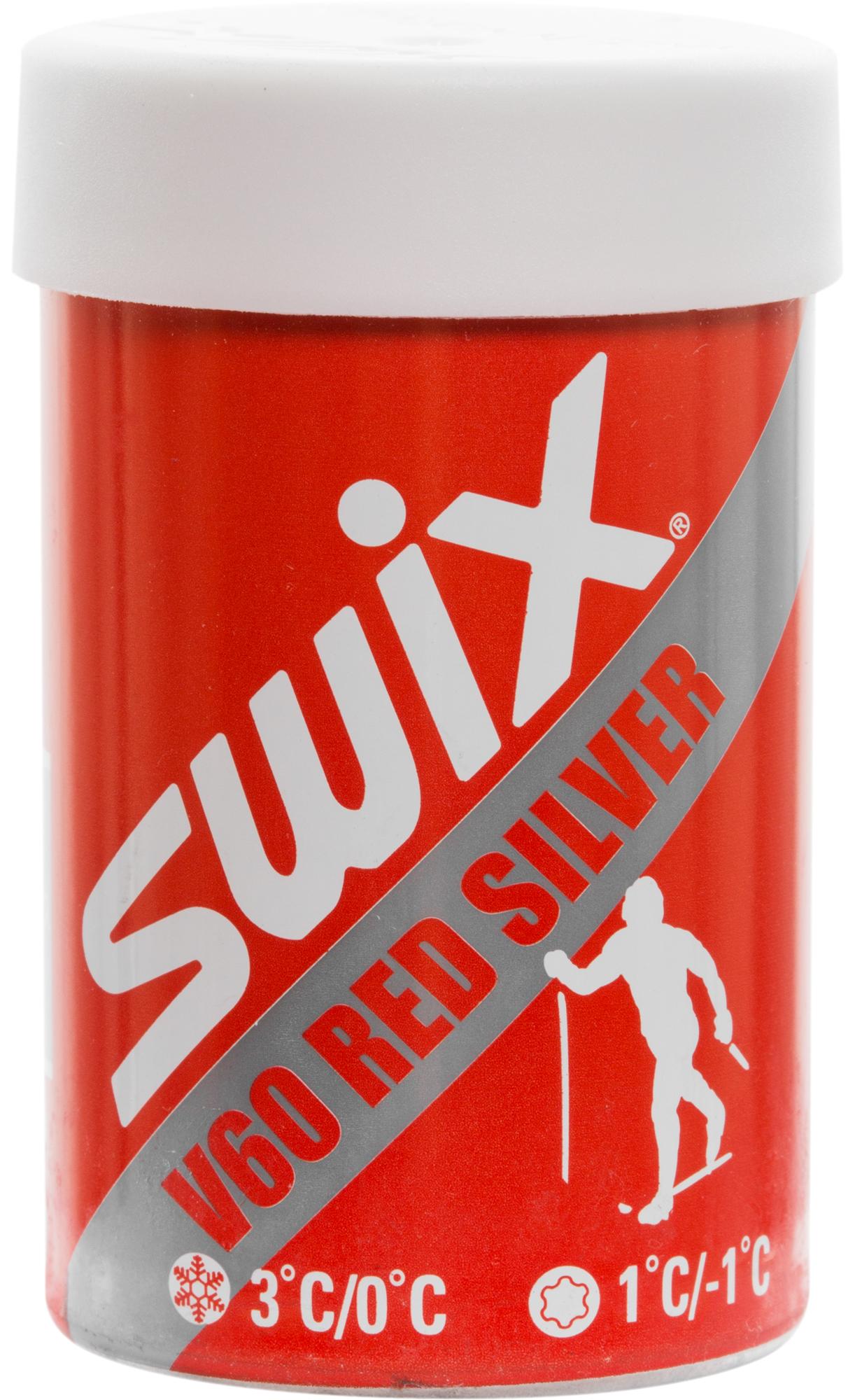Swix Мазь держания V60 Red Silver, 0/+3C