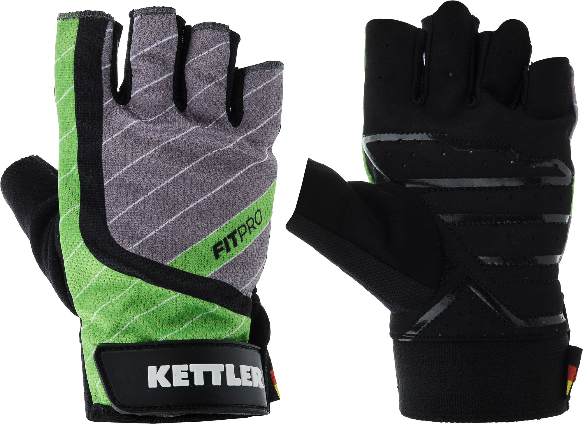 Kettler Перчатки для фитнеса Kettler Fitness Gloves AK-310M-G2, размер 9.5