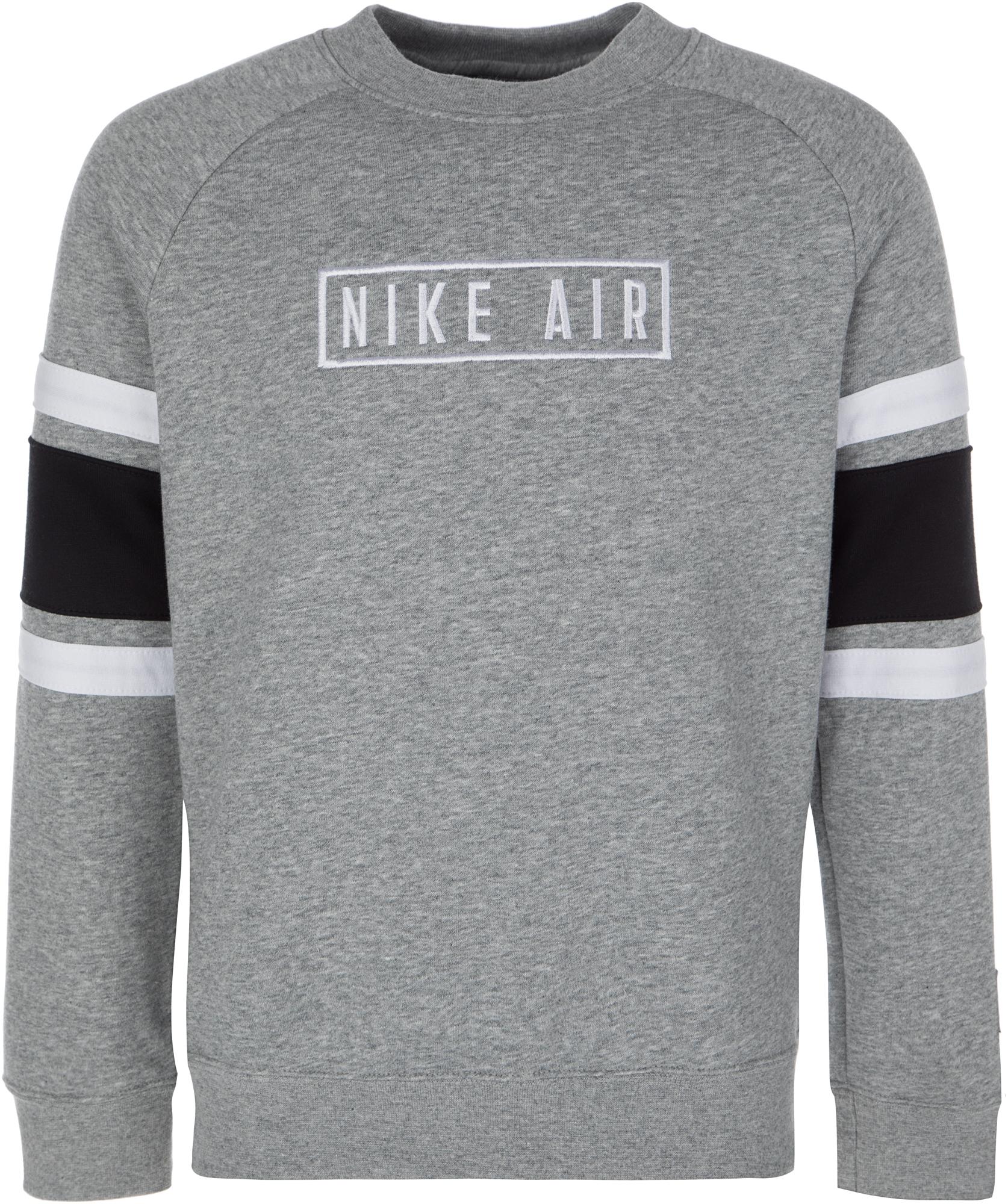 цены на Nike Свитшот для мальчиков Nike Air Crew, размер 158-170 в интернет-магазинах