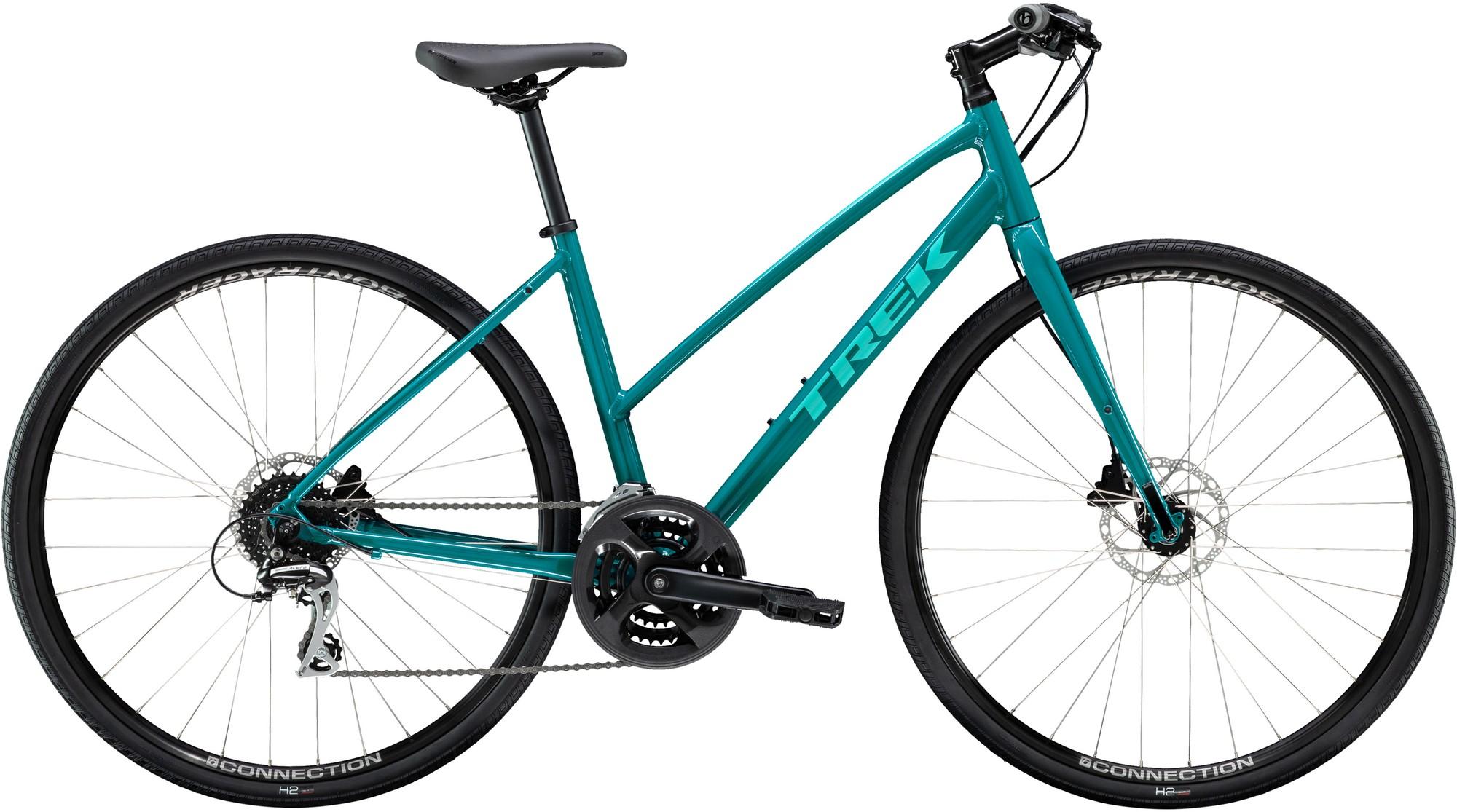 цена на Trek Велосипед городской женский Trek FX 2 WSD DISC STAGGER 700C