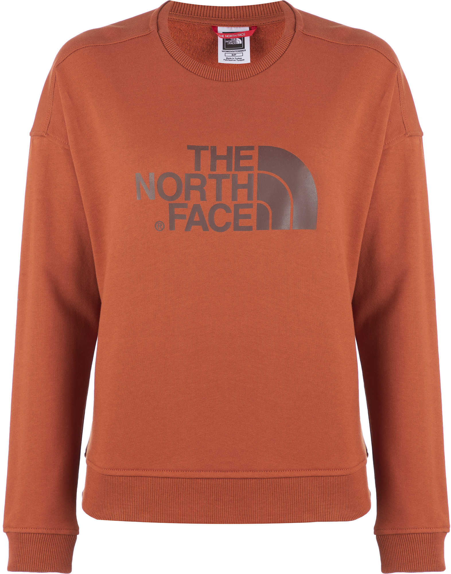 The North Face Свитшот женский The North Face Drew Peak Crew, размер 48 цена