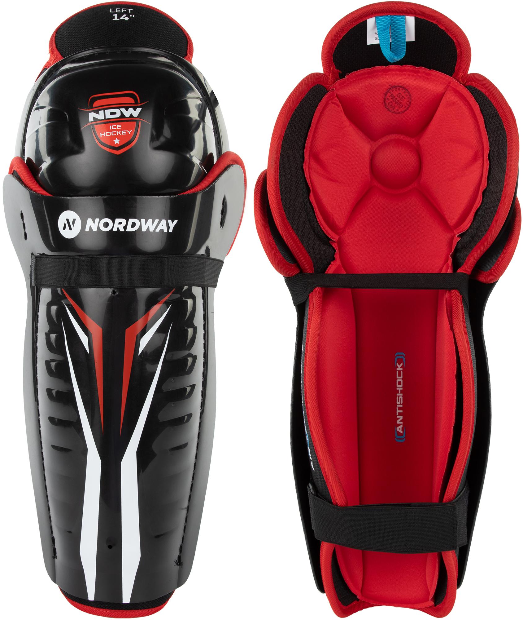 Nordway Щитки хоккейные Nordway 3.0 SR nordway щитки хоккейные детские nordway