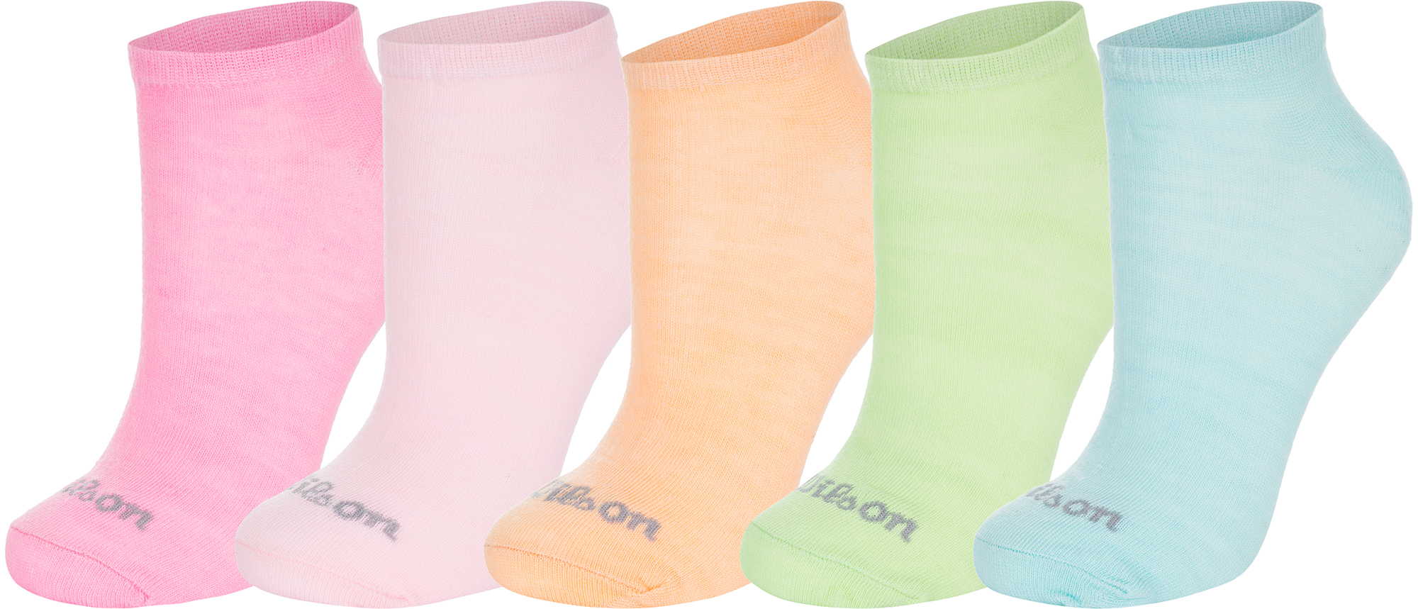 Wilson Носки женские Wilson Solids, 5 пар