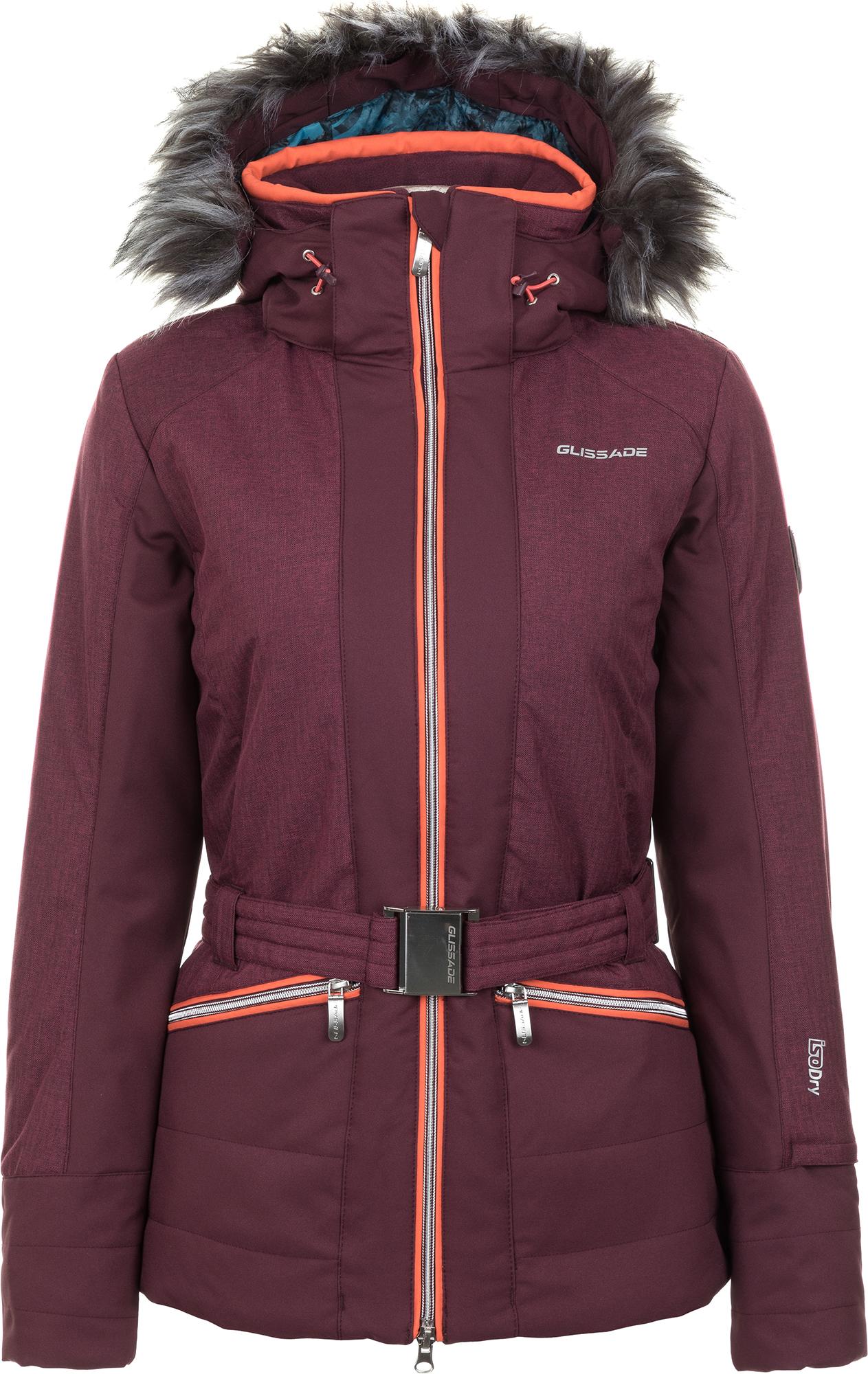 Glissade Куртка утепленная женская Glissade, размер 52