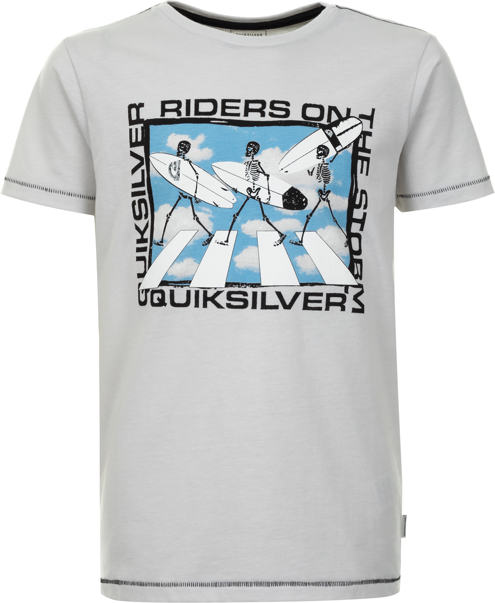 Quiksilver Футболка для мальчиков Quiksilver Stormy Rider Ss Youth, размер 164-170 quiksilver штаны прямые детские quiksilver thick wood baby i pant blue salted