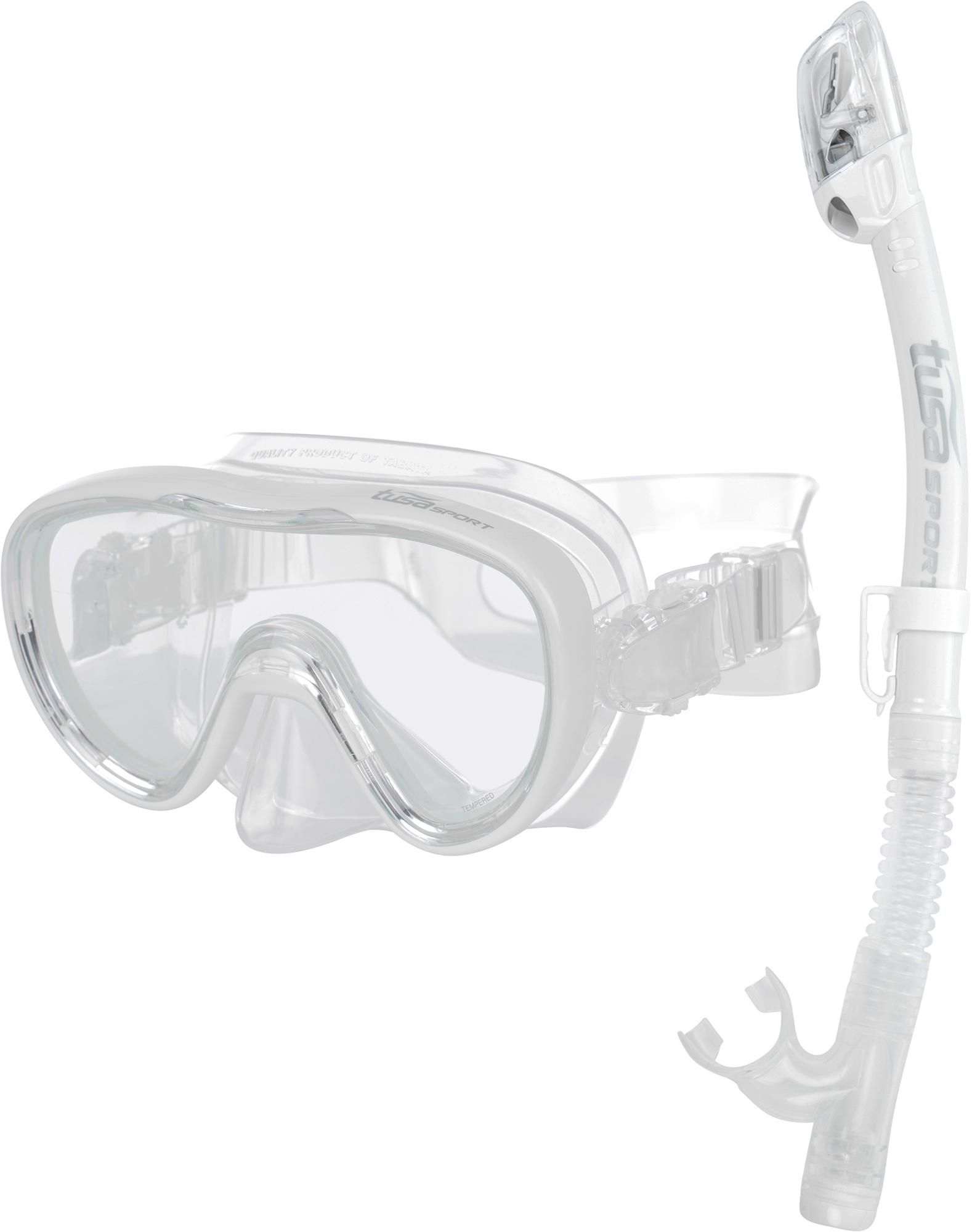 Tusa Набор для плавания детский: маска и трубка
