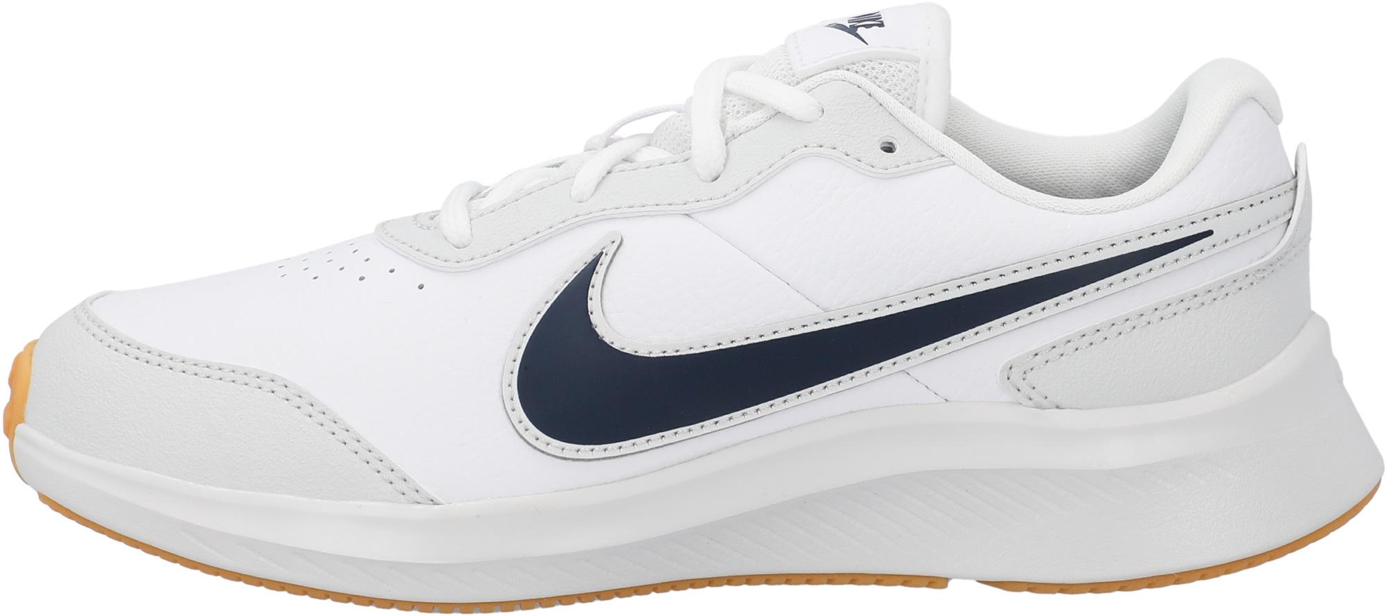 Nike Кроссовки для девочек Nike Varsity Leather (GS), размер 37.5 кроссовки nike cortez basic ltr se gs shoe girls aa3043 001